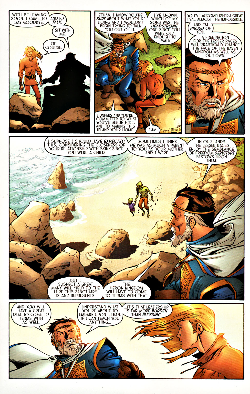 Read online Scion comic -  Issue #27 - 8