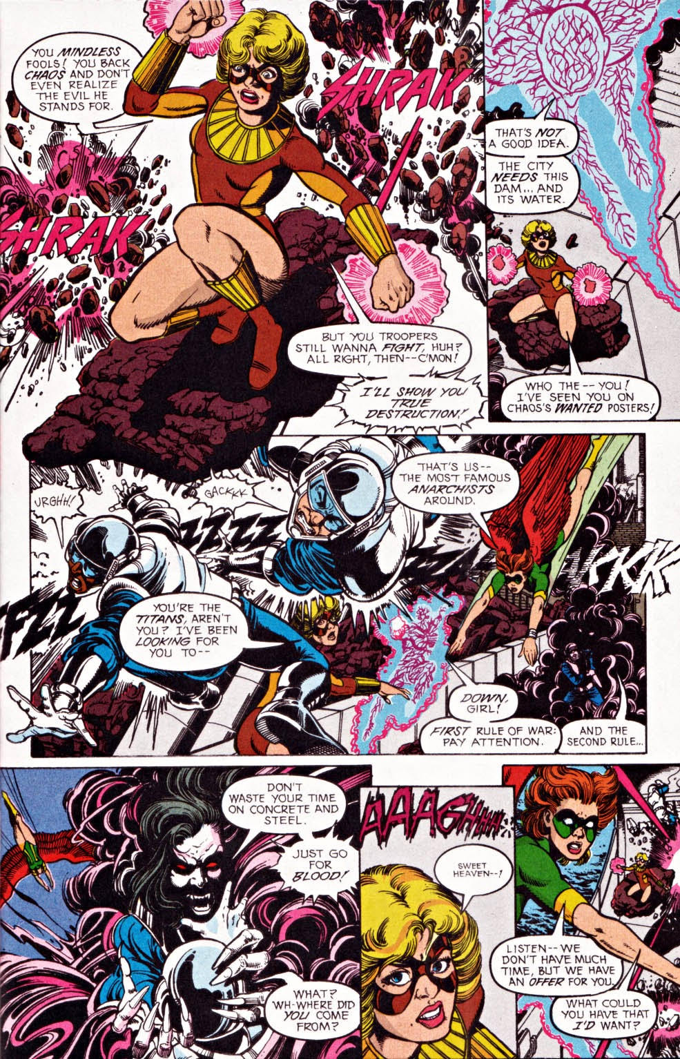 Read online Team Titans comic -  Issue #1e - 4