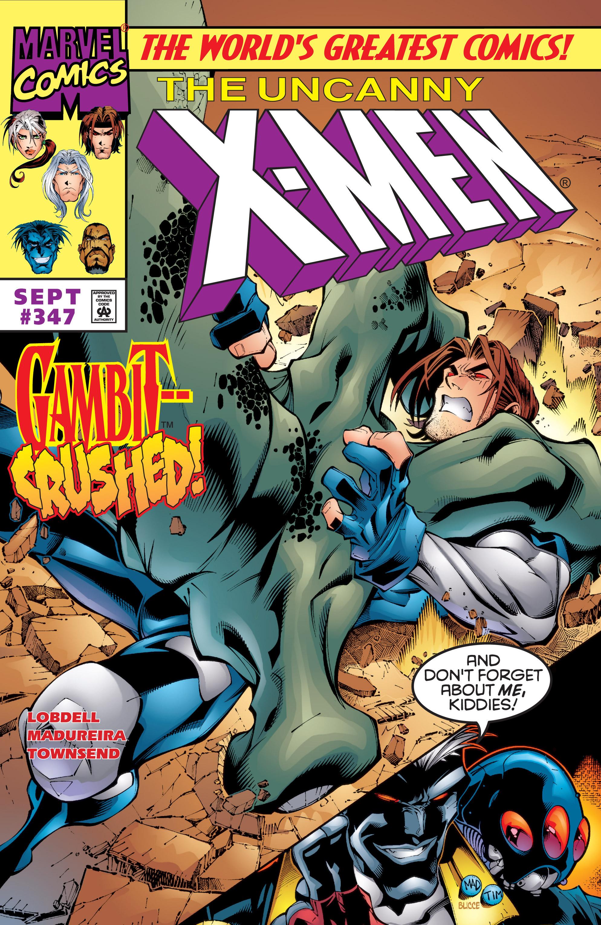 Read online Uncanny X-Men (1963) comic -  Issue #347 - 1