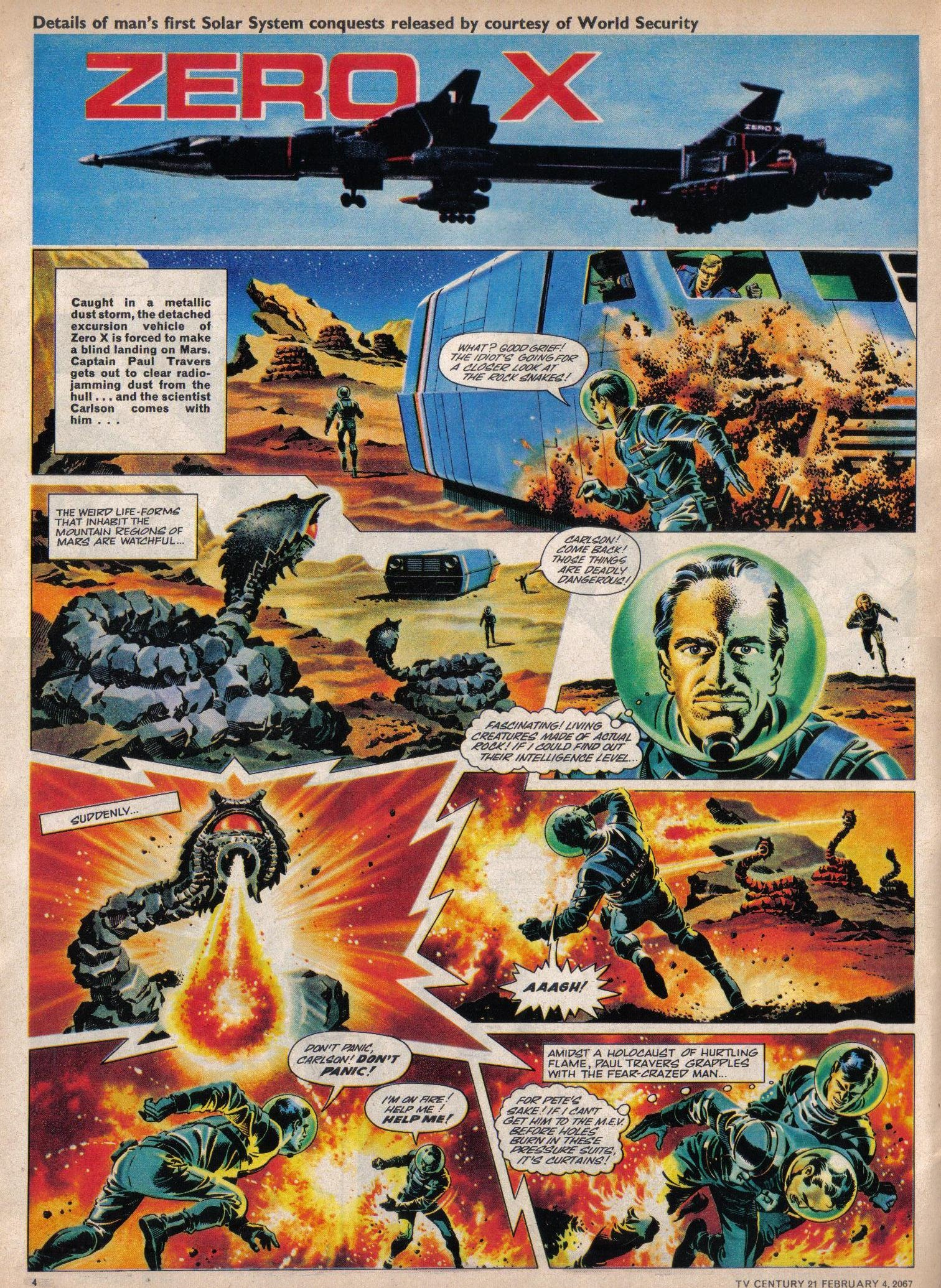 Read online TV Century 21 (TV 21) comic -  Issue #107 - 4