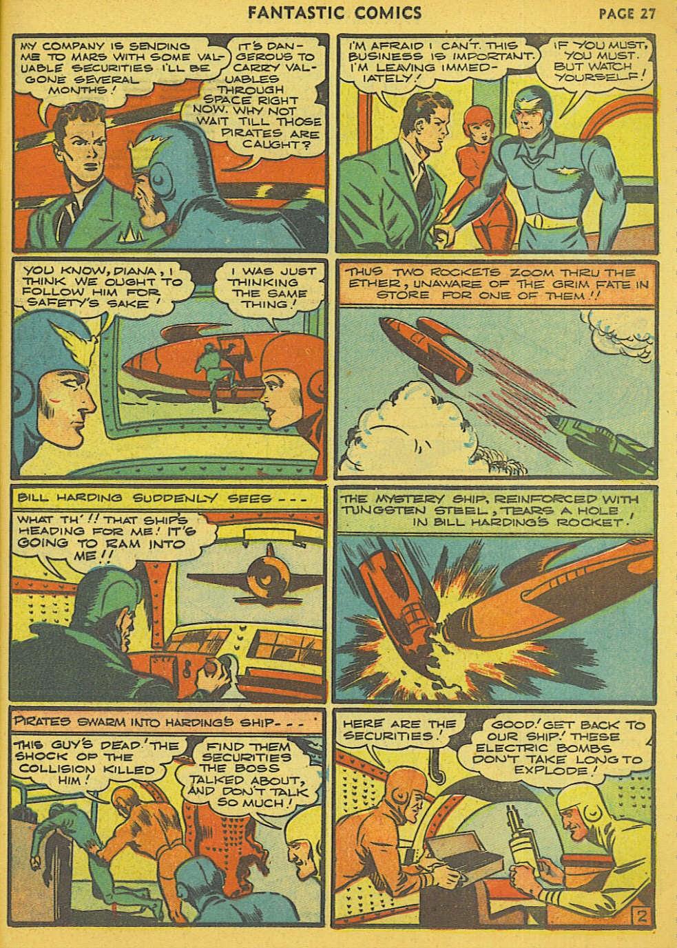 Read online Fantastic Comics comic -  Issue #15 - 21