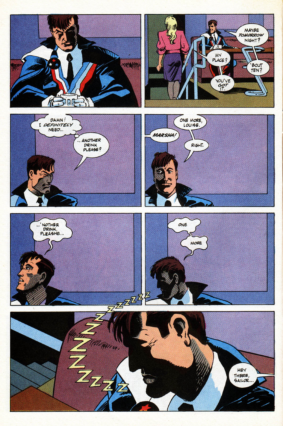 Read online American Flagg! comic -  Issue #38 - 12