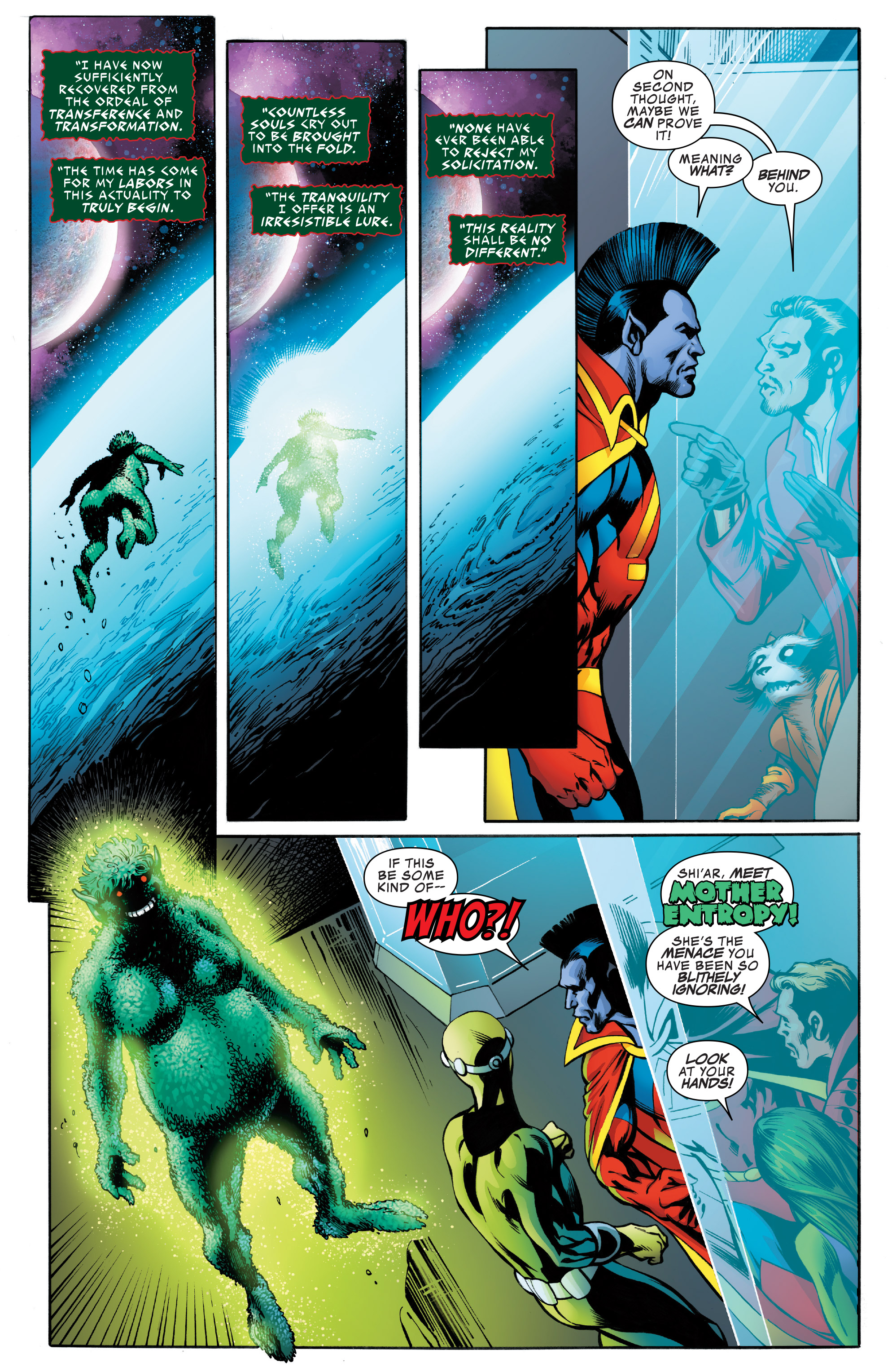 Read online Guardians of the Galaxy: Mother Entropy comic -  Issue #4 - 8