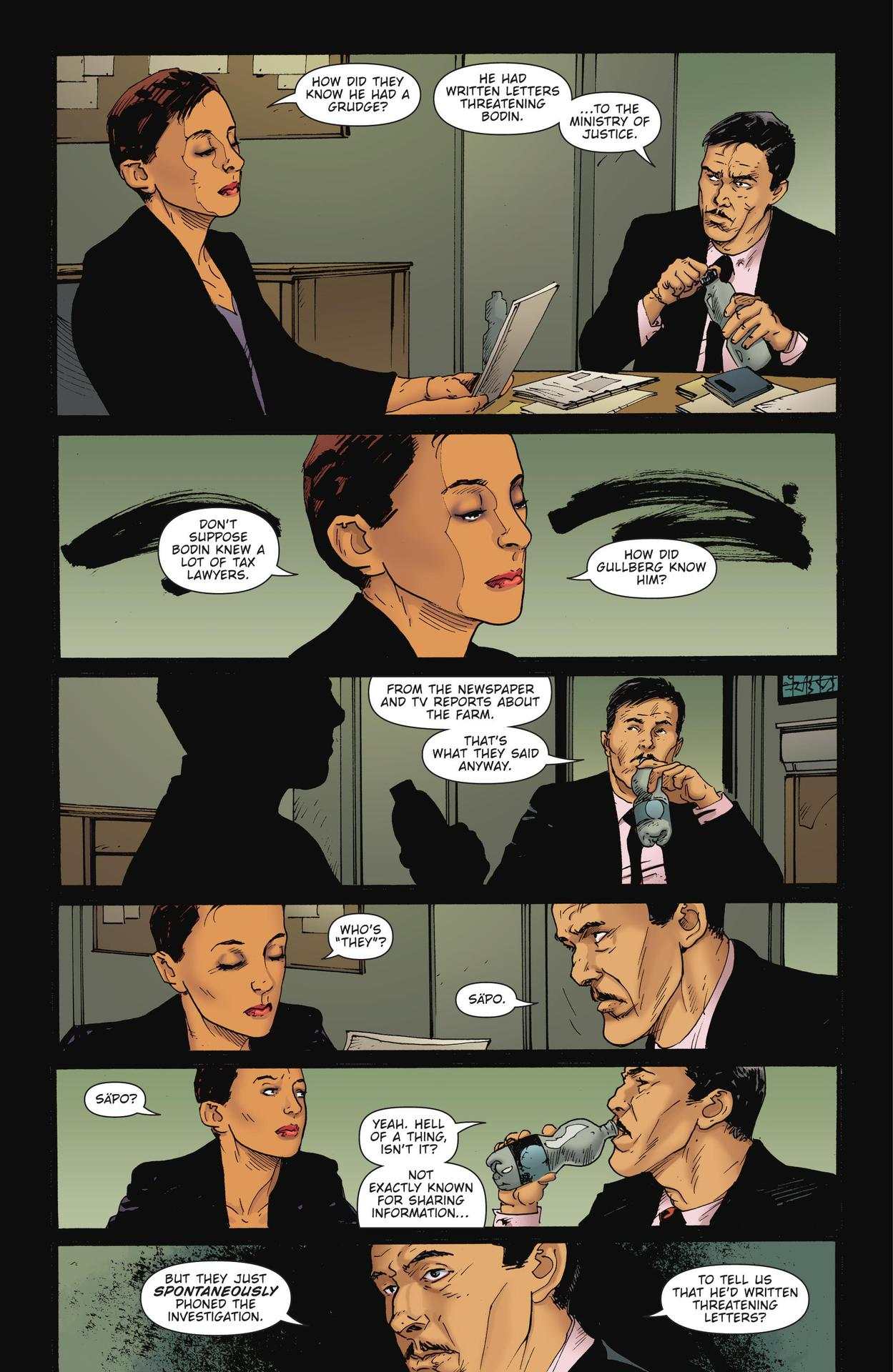 Read online The Girl Who Kicked The Hornet's Nest comic -  Issue # TPB - 106