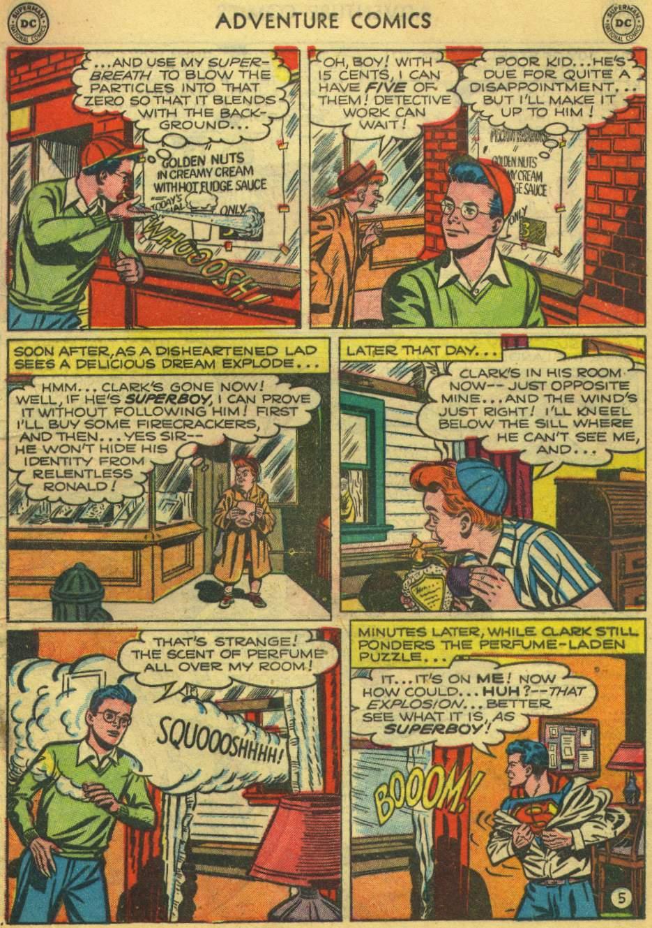Read online Adventure Comics (1938) comic -  Issue #168 - 7