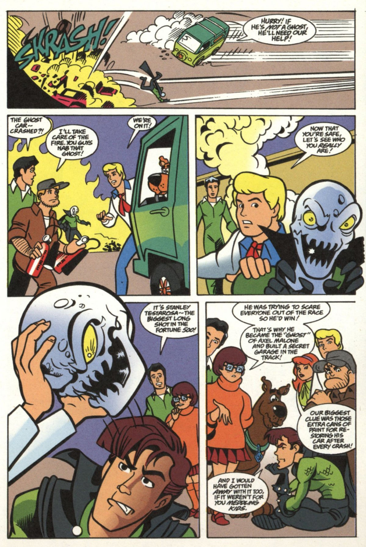 Read online Scooby-Doo (1997) comic -  Issue #20 - 12