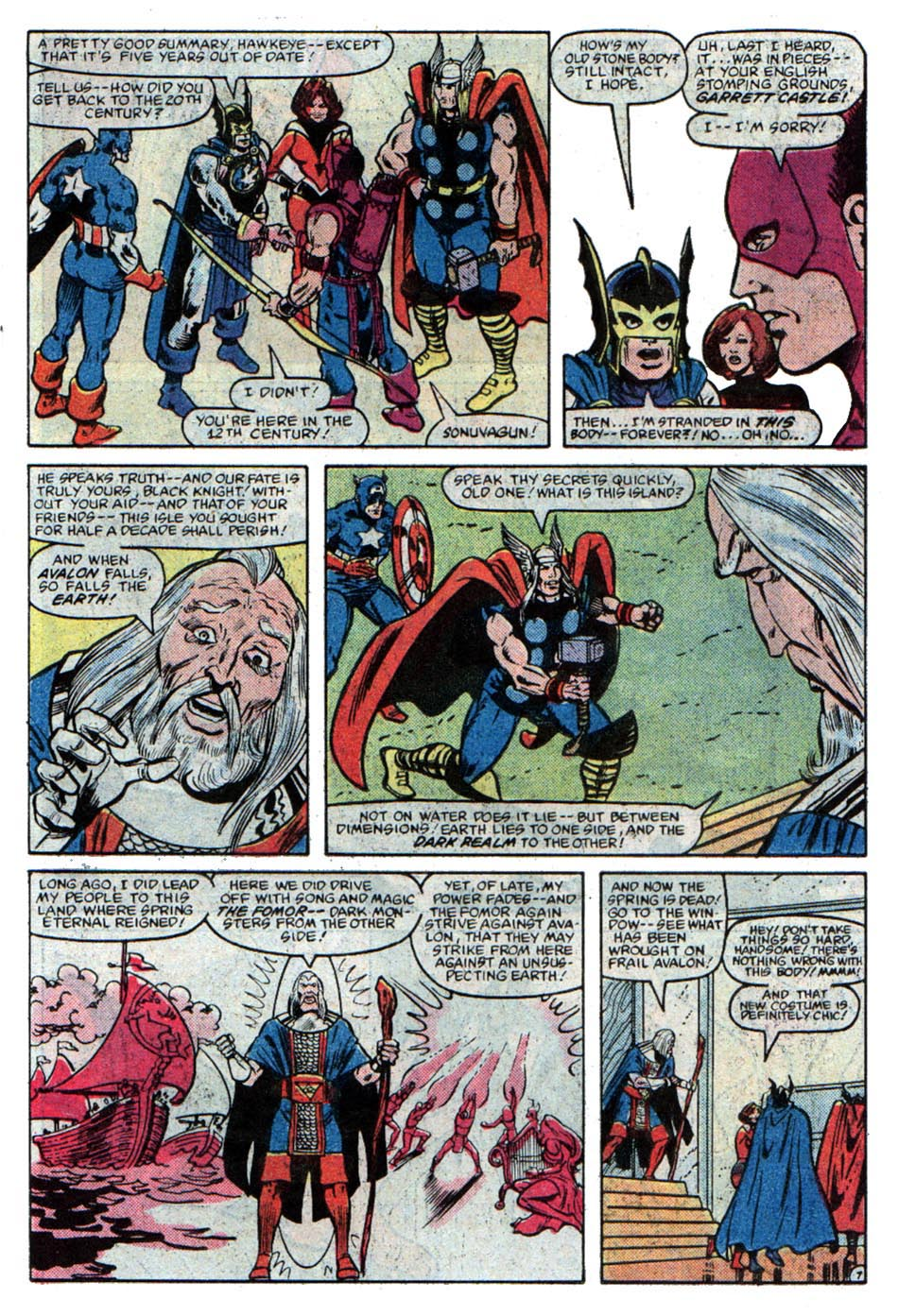 The Avengers (1963) 225 Page 7