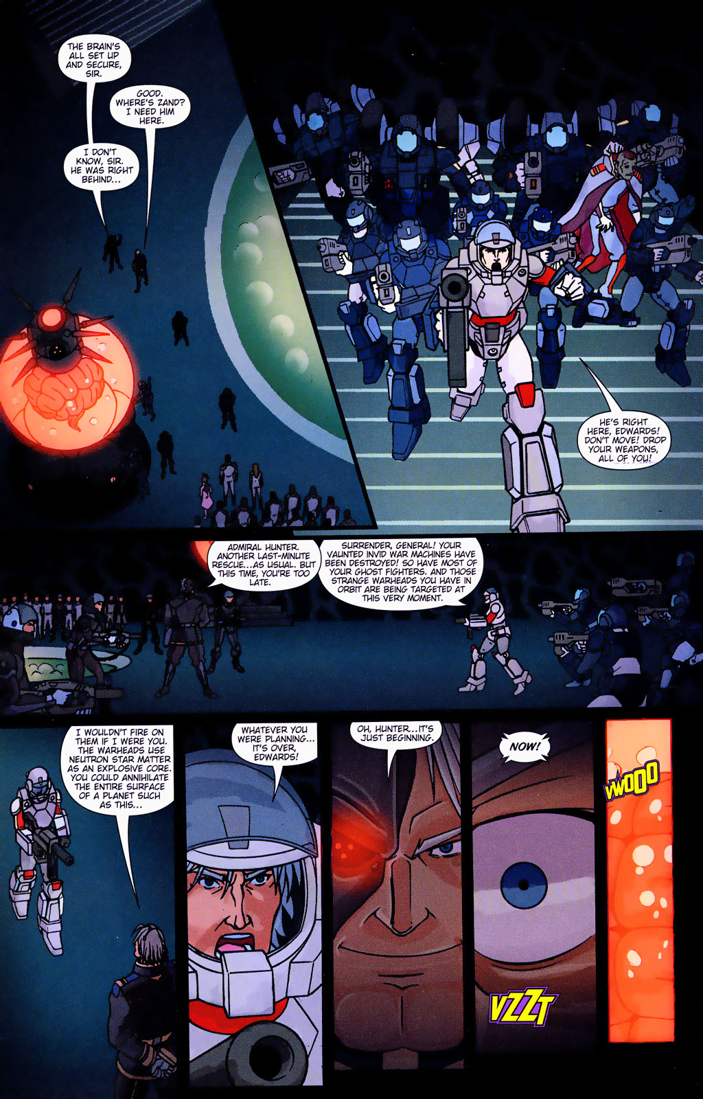 Read online Robotech: Prelude to the Shadow Chronicles comic -  Issue #4 - 15