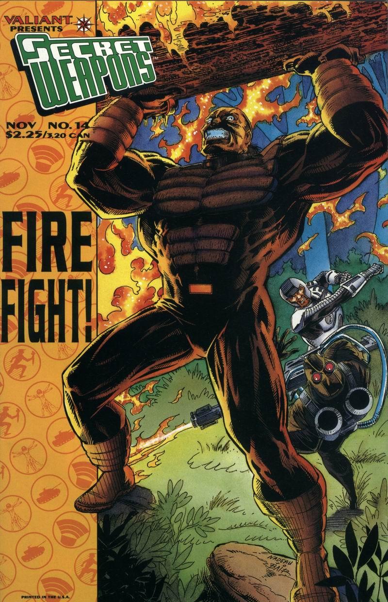 Read online Secret Weapons comic -  Issue #14 - 1