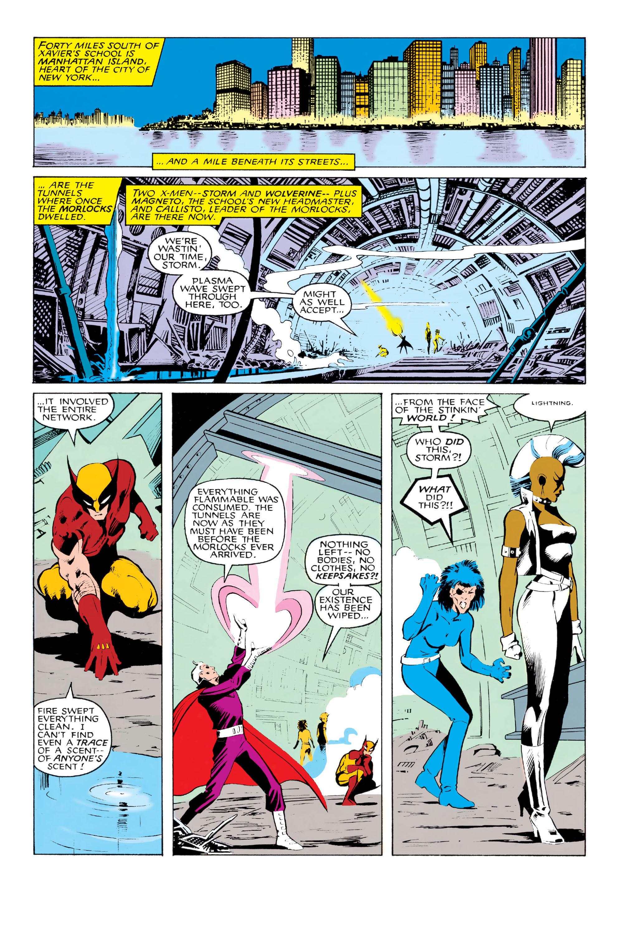 Read online Uncanny X-Men (1963) comic -  Issue #213 - 6