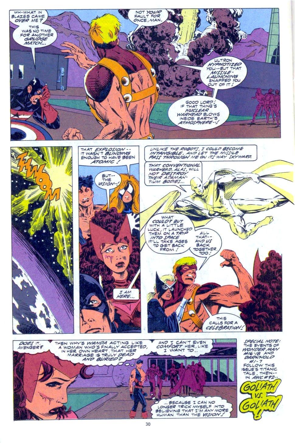 Avengers West Coast (1989) 91 Page 23