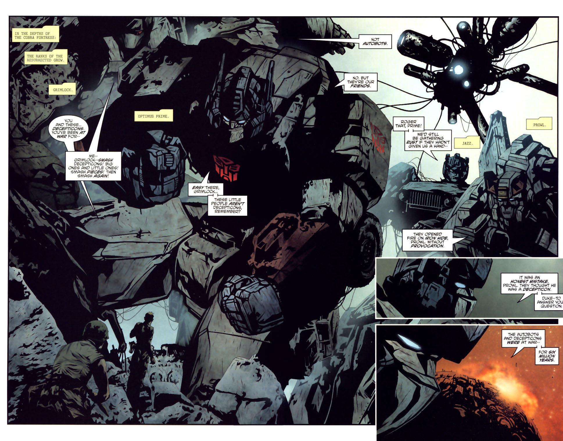 Read online Transformers/G.I. Joe comic -  Issue #2 - 14