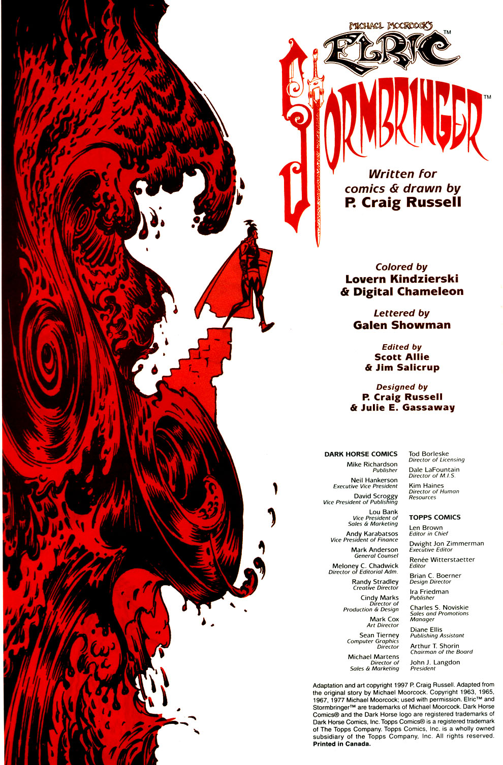 Read online Elric: Stormbringer comic -  Issue #6 - 2