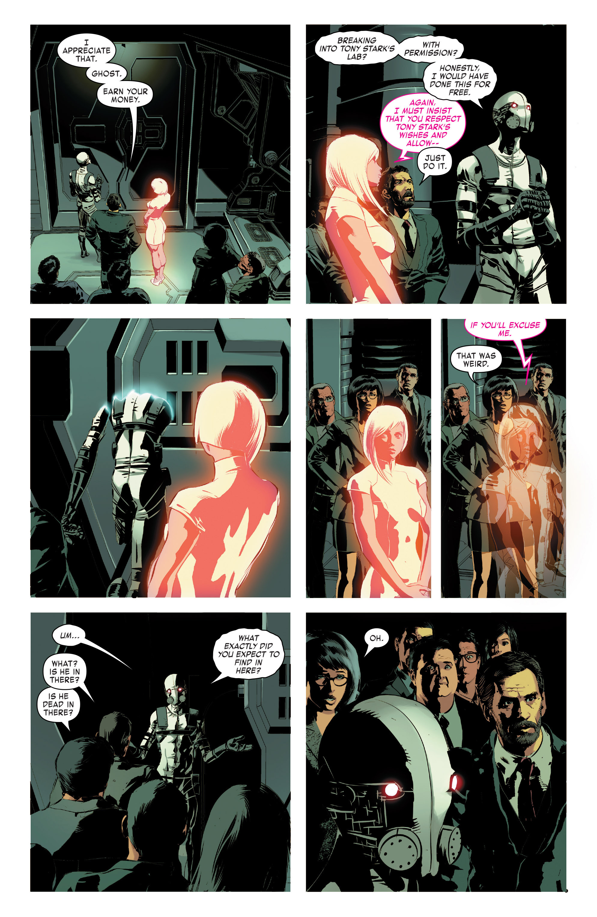 Read online True Believers: Invincible Iron Man-The War Machines comic -  Issue # Full - 112