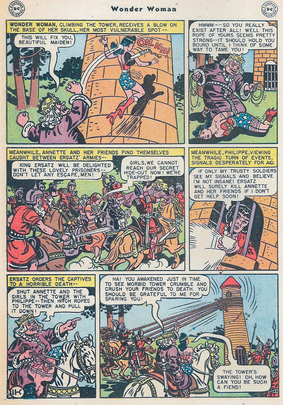 Read online Wonder Woman (1942) comic -  Issue #27 - 48