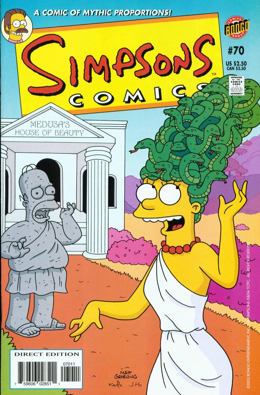 Read online Simpsons Comics comic -  Issue #70 - 1