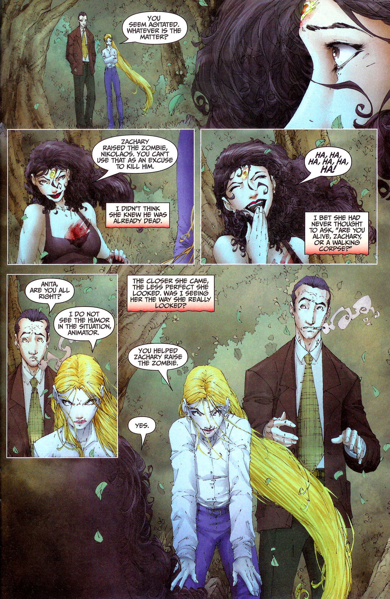 Read online Anita Blake, Vampire Hunter: Guilty Pleasures comic -  Issue #7 - 19
