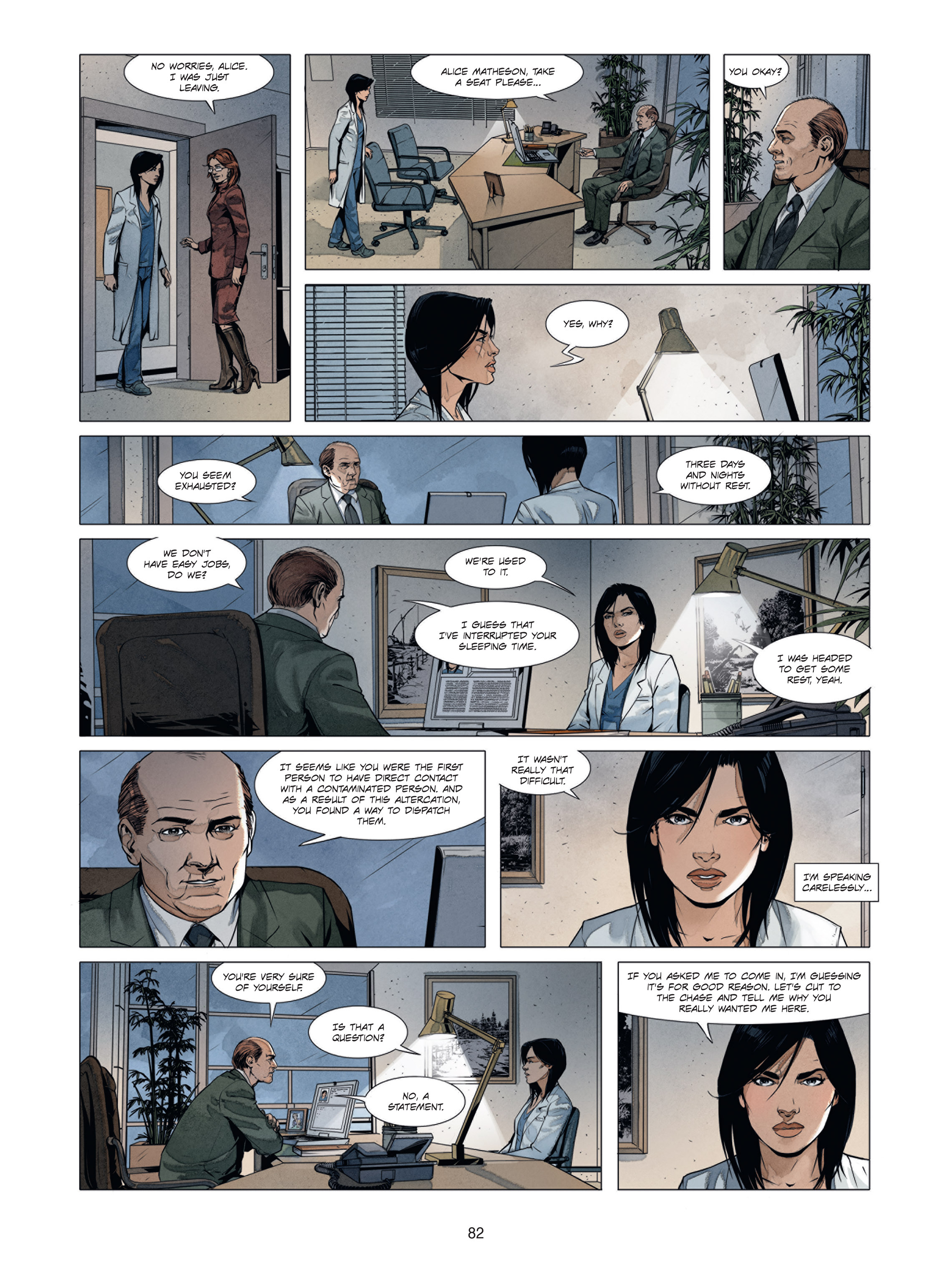 Read online Alice Matheson comic -  Issue #1 - 81
