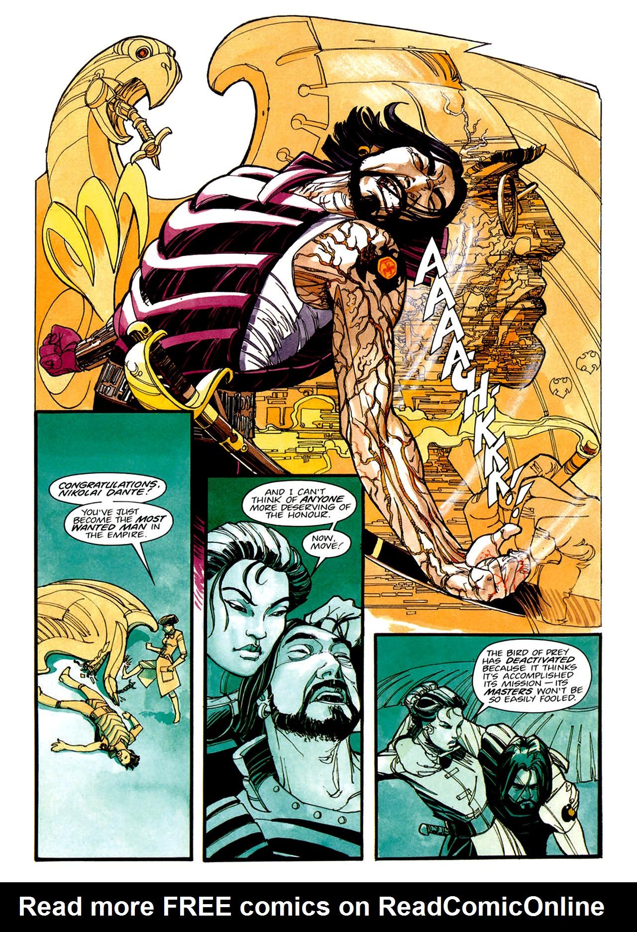 Read online Nikolai Dante comic -  Issue # TPB 1 - 25