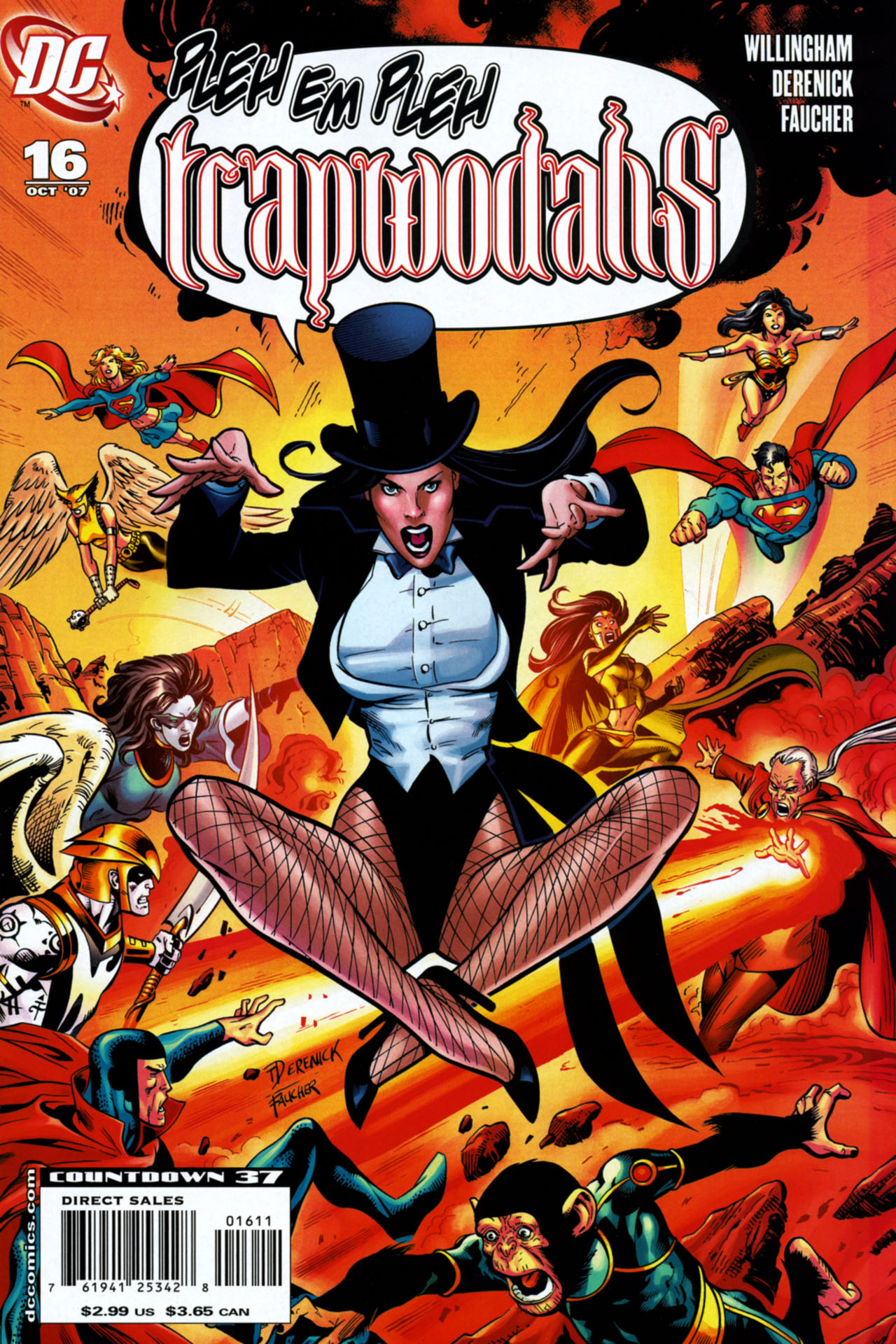 Read online Shadowpact comic -  Issue #16 - 1