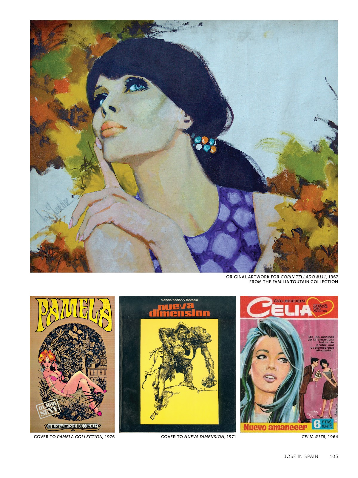 Read online The Art of Jose Gonzalez comic -  Issue # TPB (Part 2) - 5
