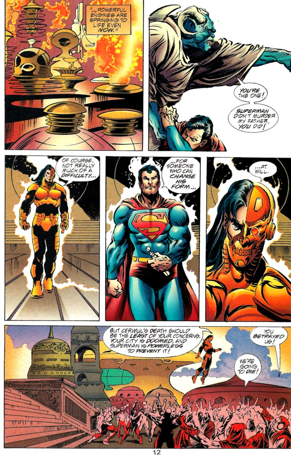 Read online Adventures of Superman (1987) comic -  Issue #563 - 13