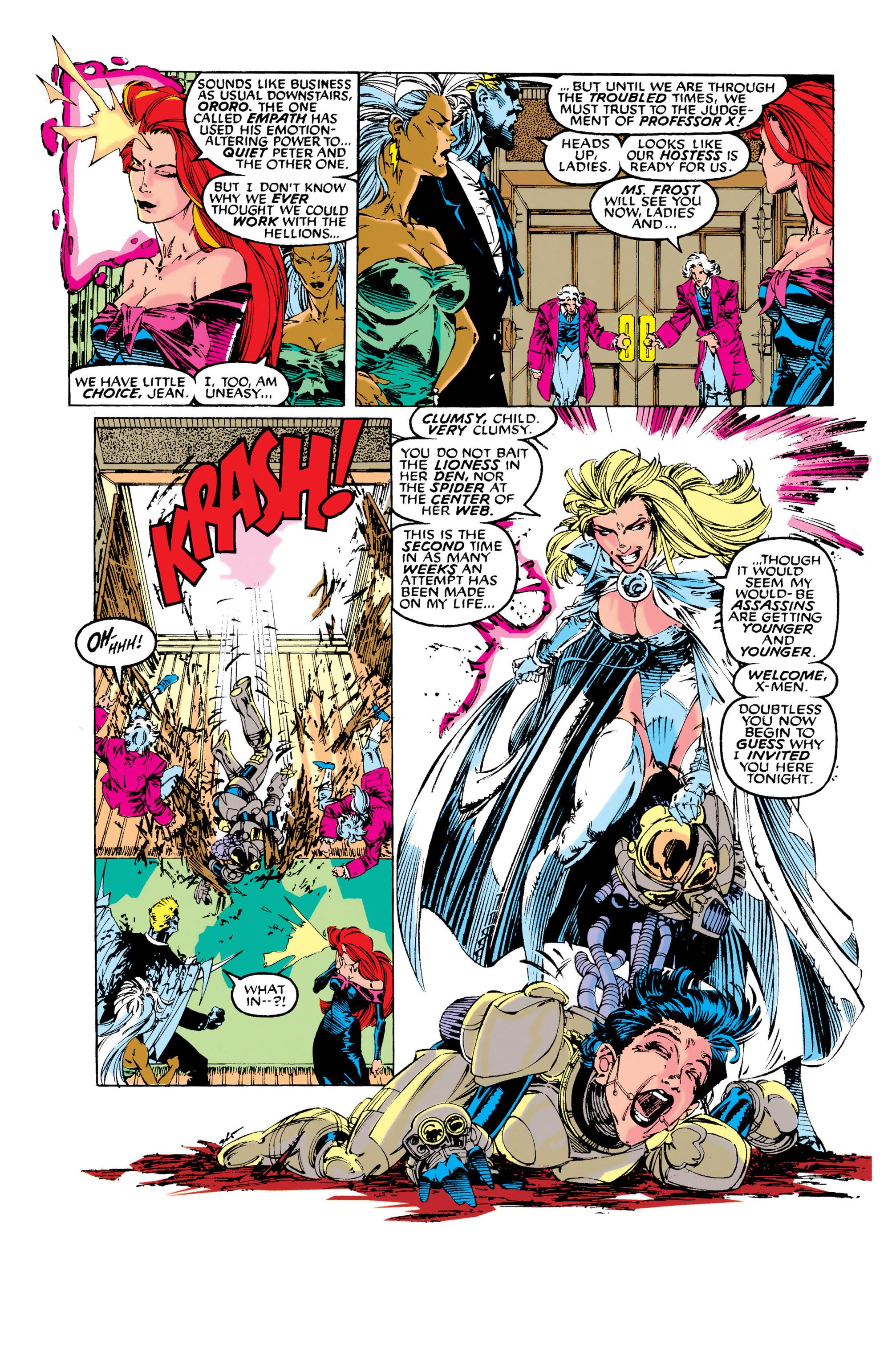 Read online Uncanny X-Men (1963) comic -  Issue #281 - 6