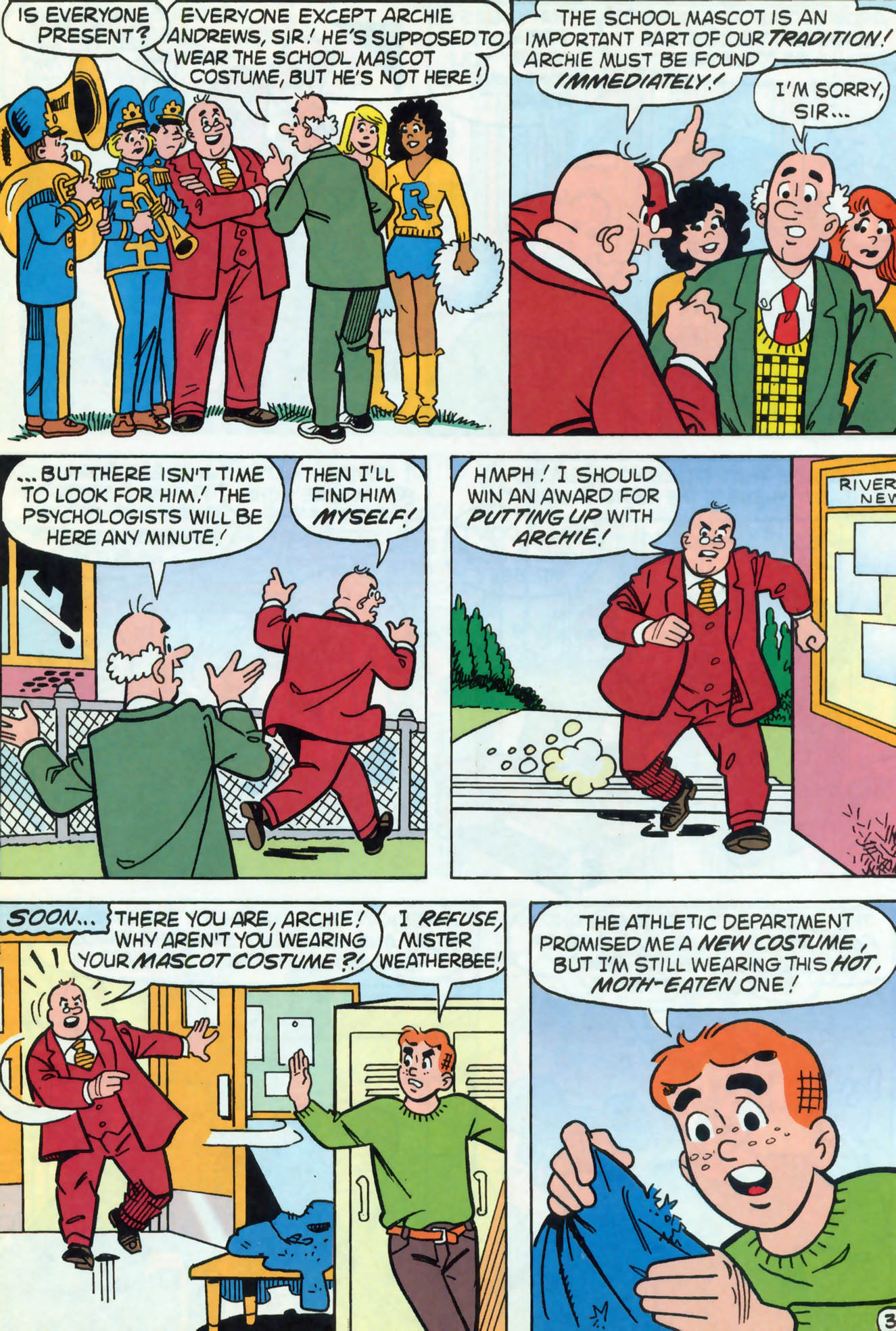 Read online Archie (1960) comic -  Issue #466 - 11