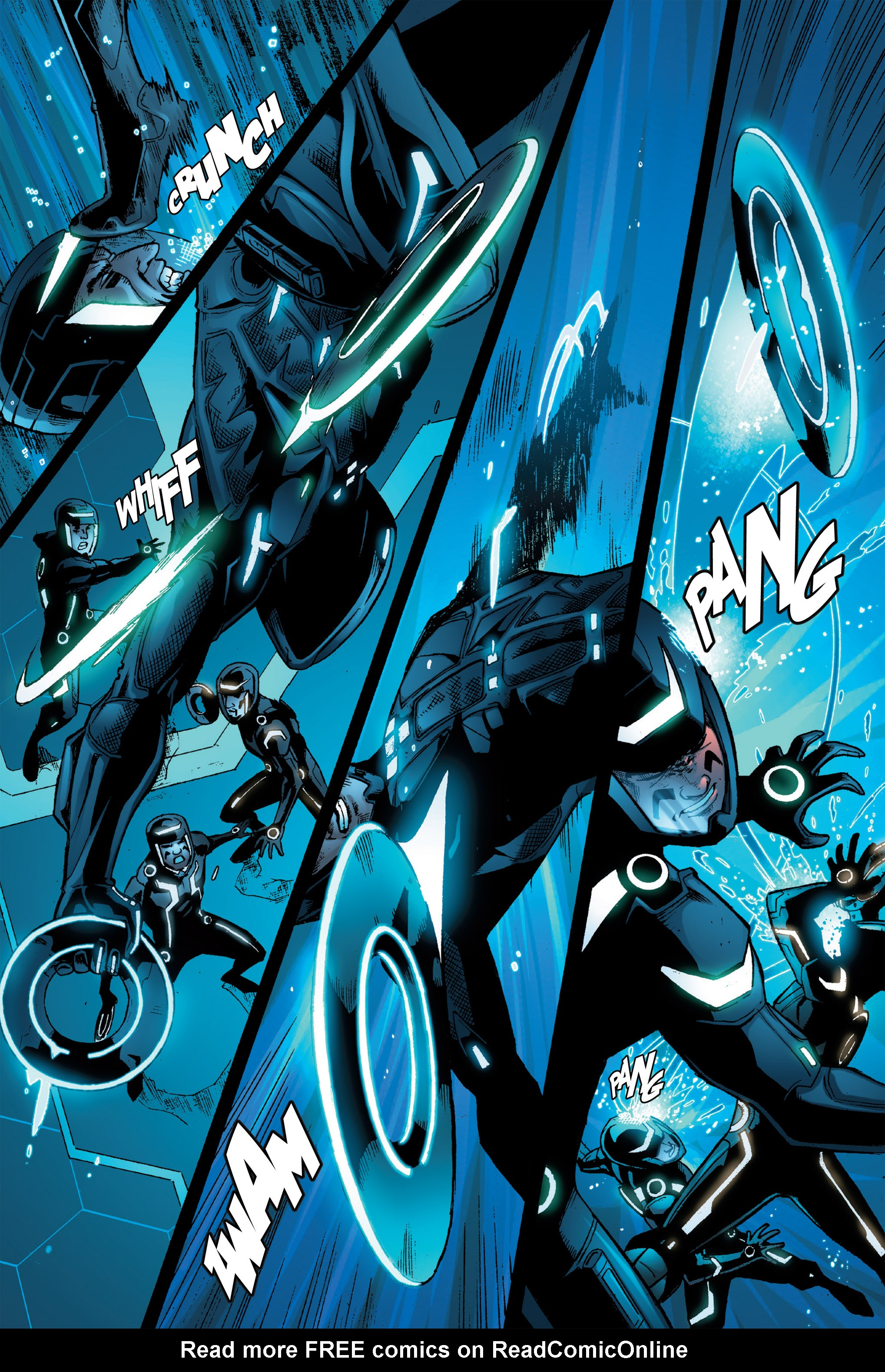 Read online TRON: Betrayal comic -  Issue # TPB - 81