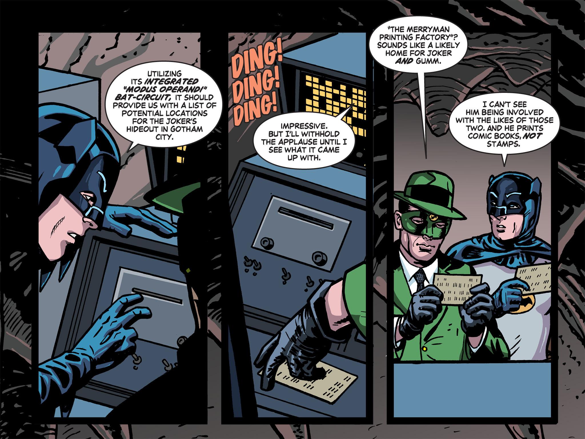 Read online Batman '66 Meets the Green Hornet [II] comic -  Issue #5 - 63