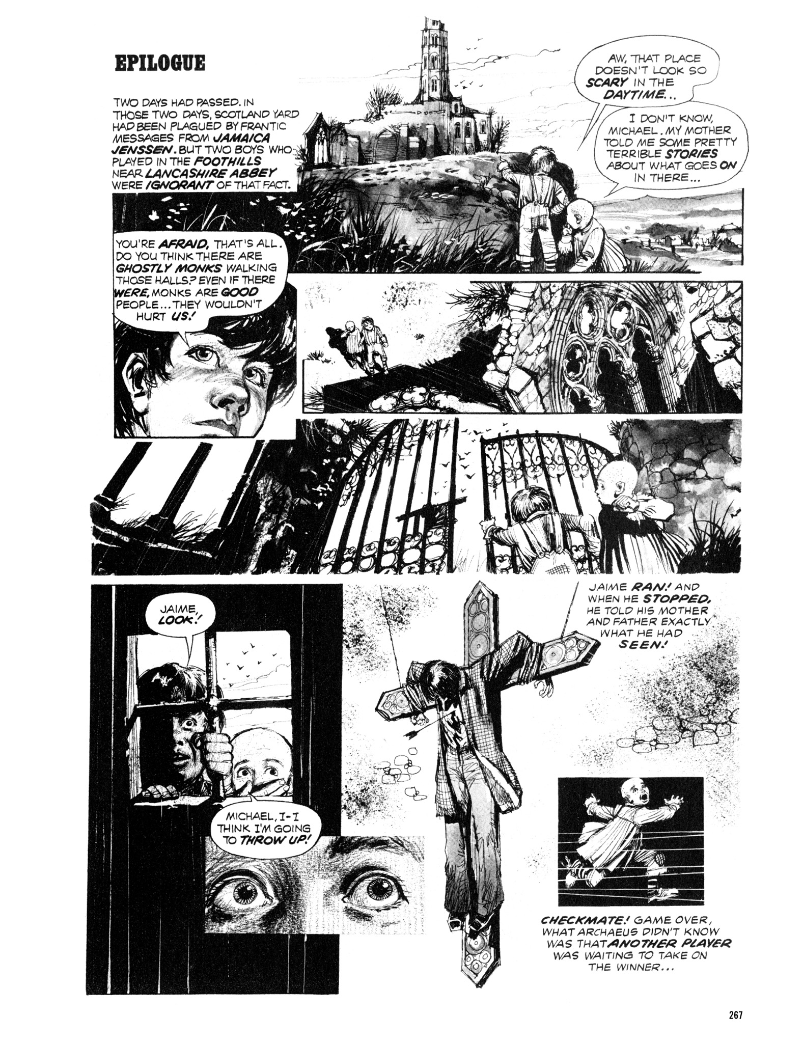 Read online Eerie Archives comic -  Issue # TPB 12 - 268