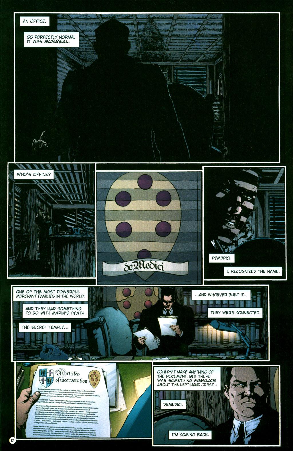 Read online Rex Mundi comic -  Issue #5 - 14