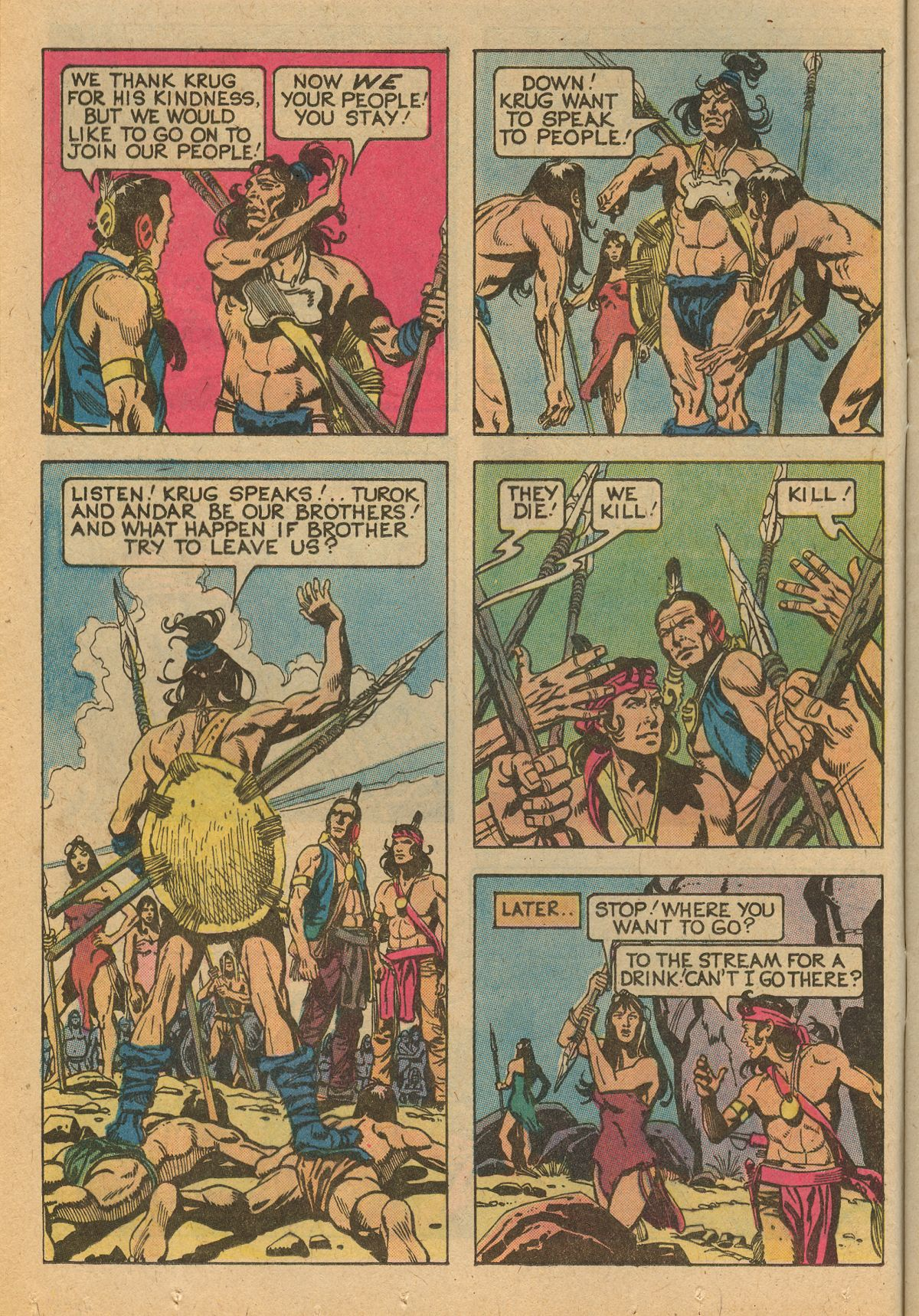 Read online Turok, Son of Stone comic -  Issue #115 - 12