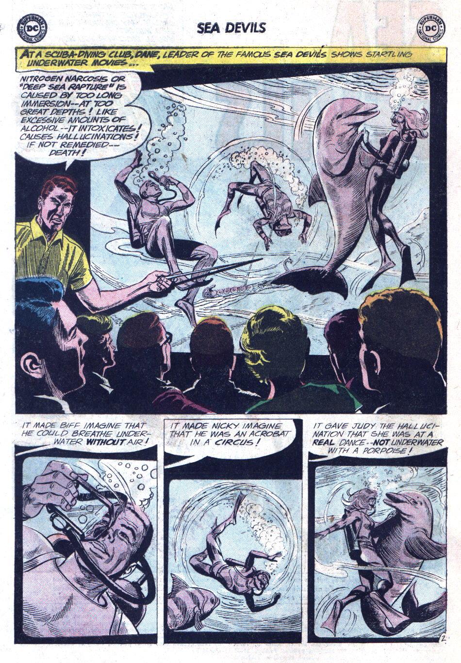 Read online Sea Devils comic -  Issue #11 - 4