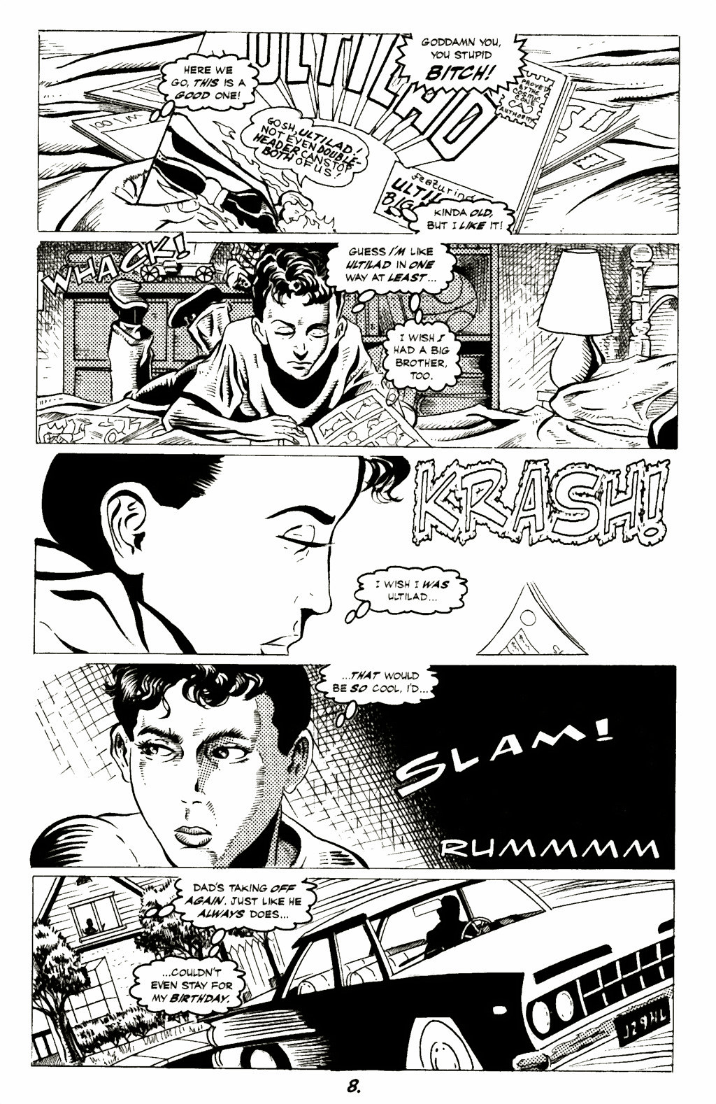 Read online A Touch of Silver comic -  Issue #1 - 10