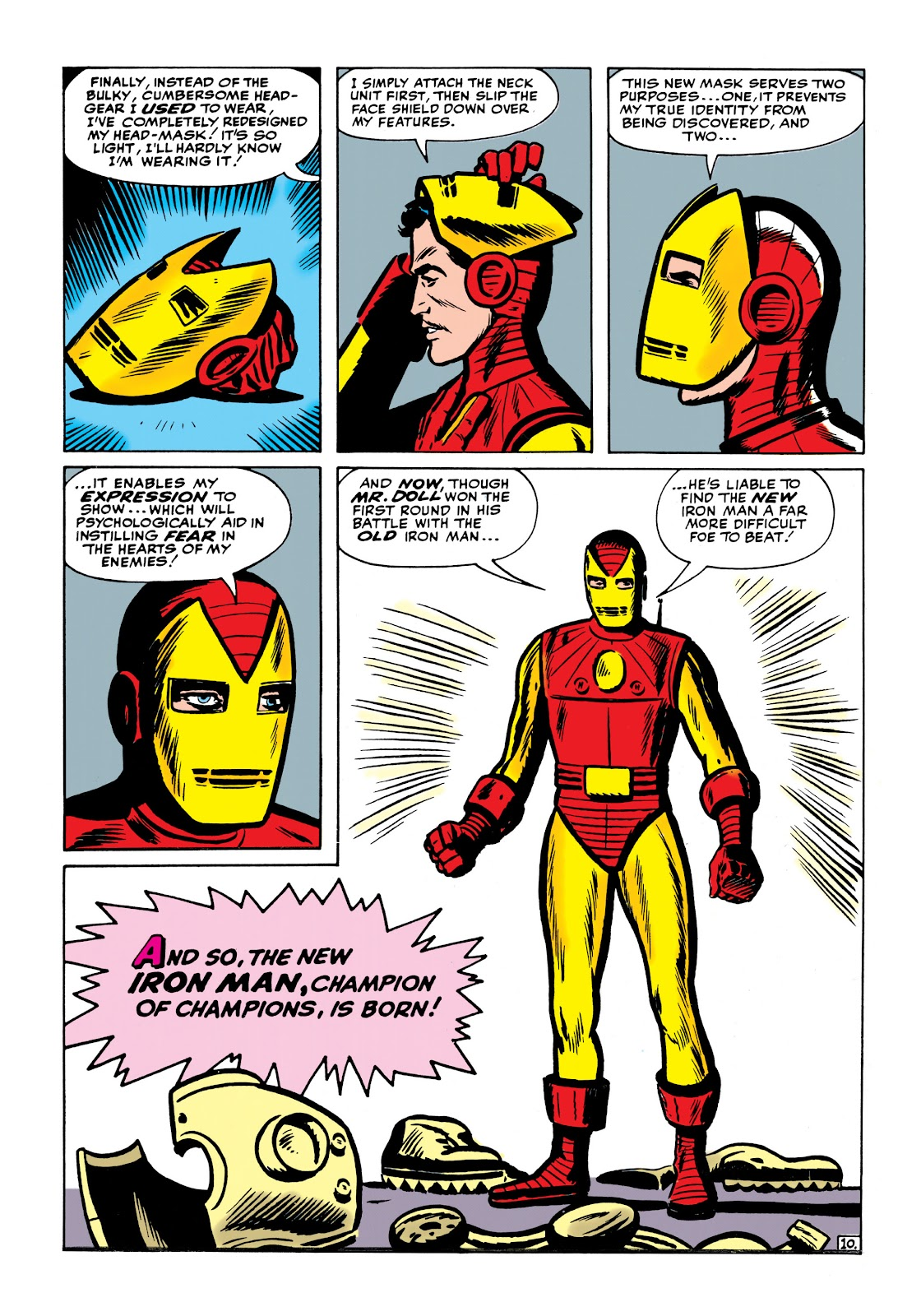 Read online Marvel Masterworks: The Invincible Iron Man comic -  Issue # TPB 1 (Part 2) - 49