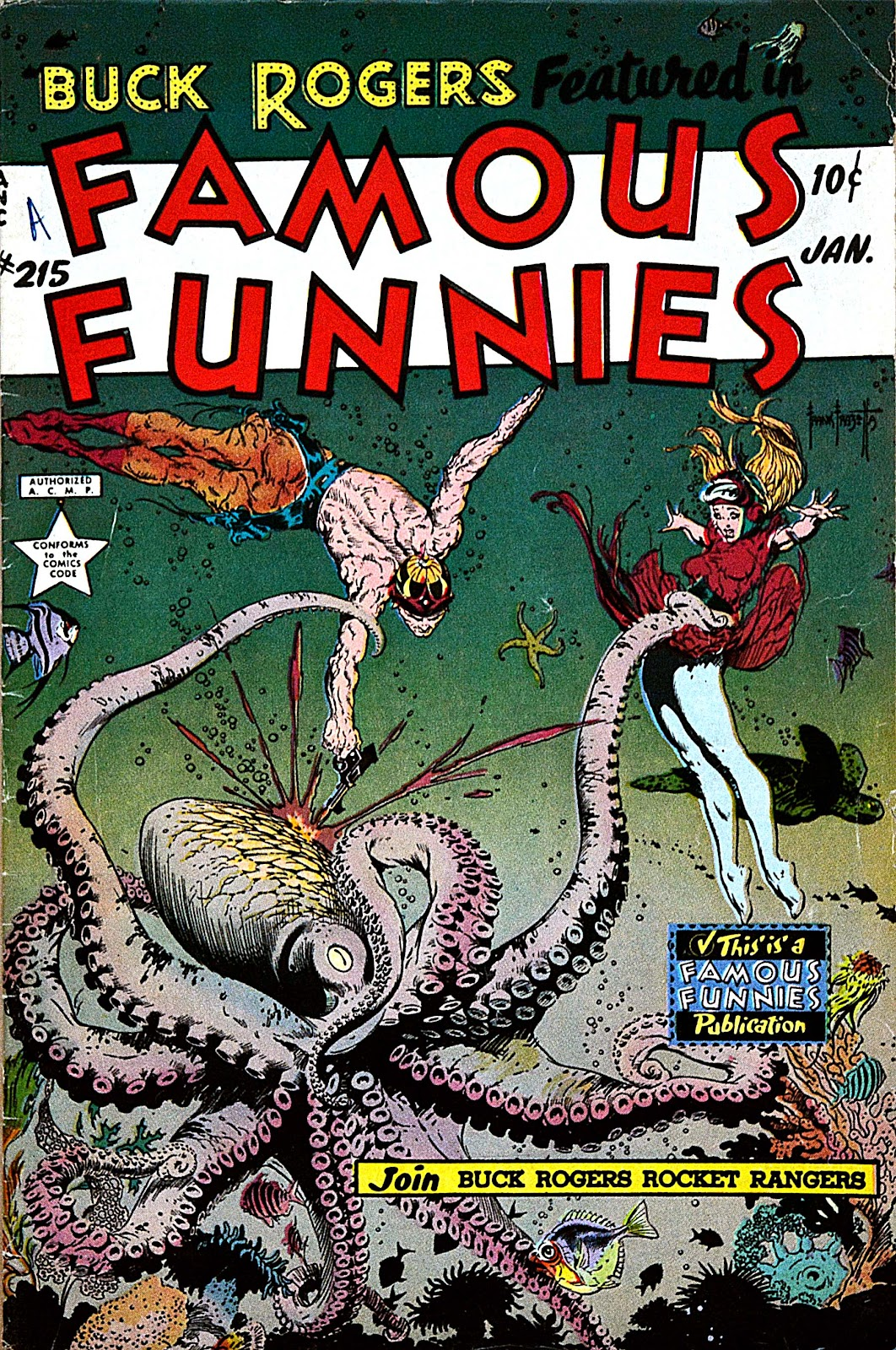 Read online Famous Funnies comic -  Issue #215 - 1