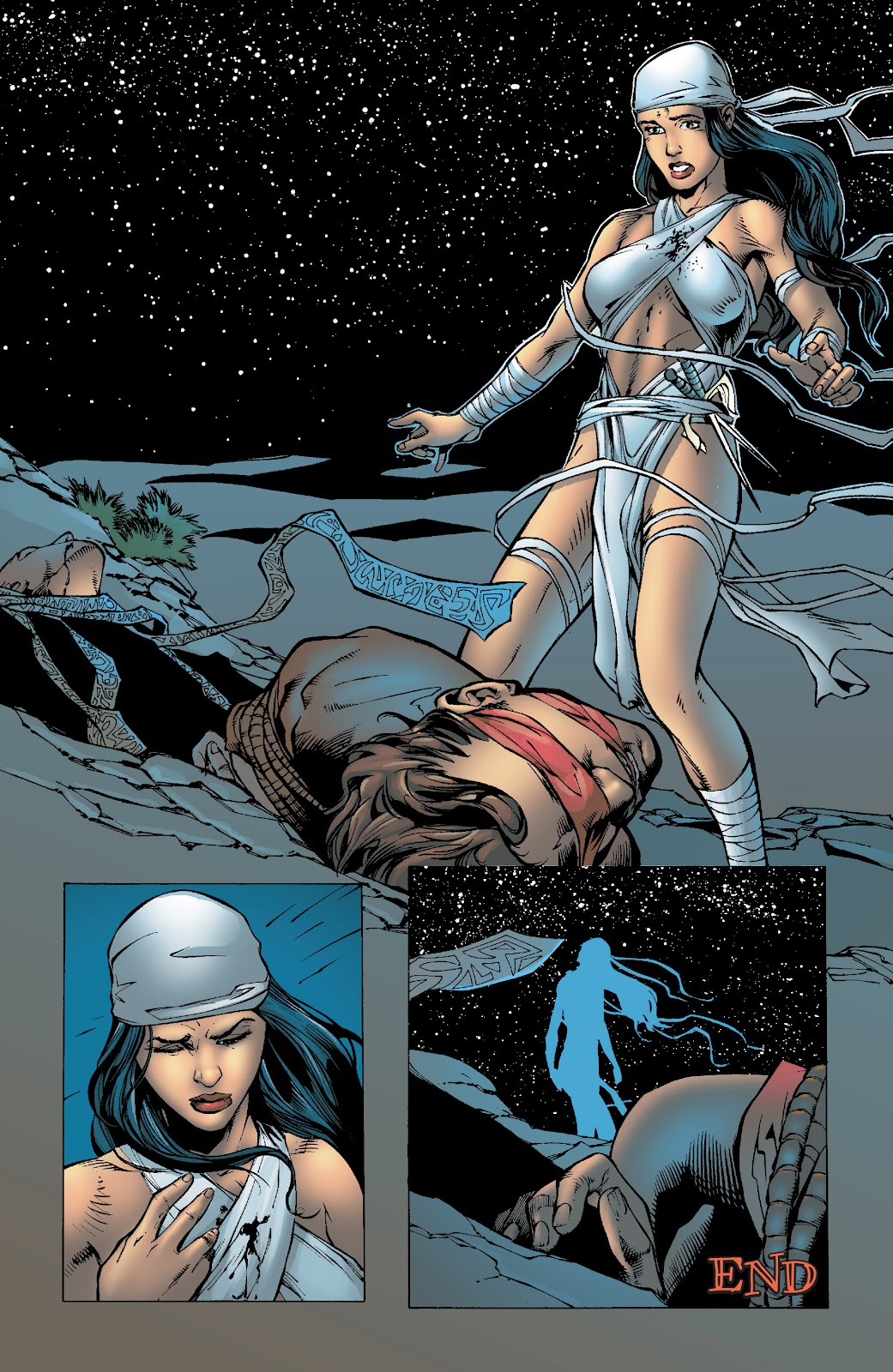 Read online Elektra (2001) comic -  Issue # _TPB Elektra by Greg Rucka Ultimate Collection (Part 4) - 76