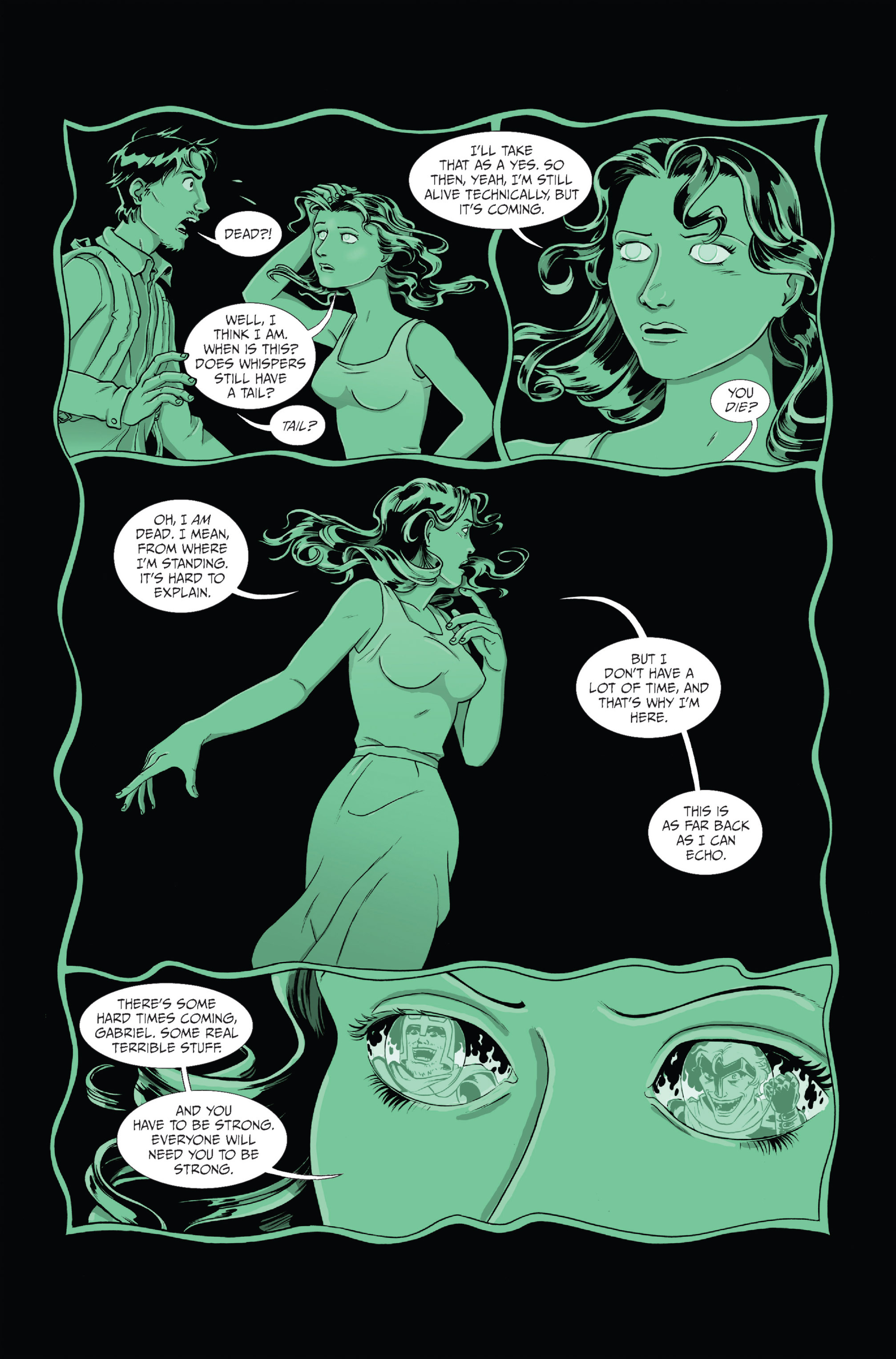 Read online Ehmm Theory: Everything & Small Doses comic -  Issue #1 - 12