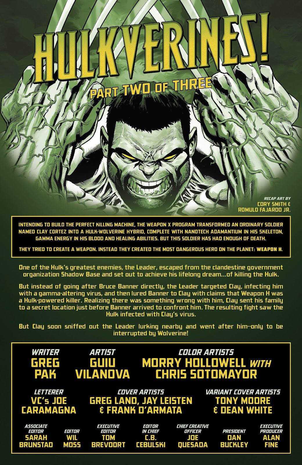 Read online Hulkverines comic -  Issue #2 - 2
