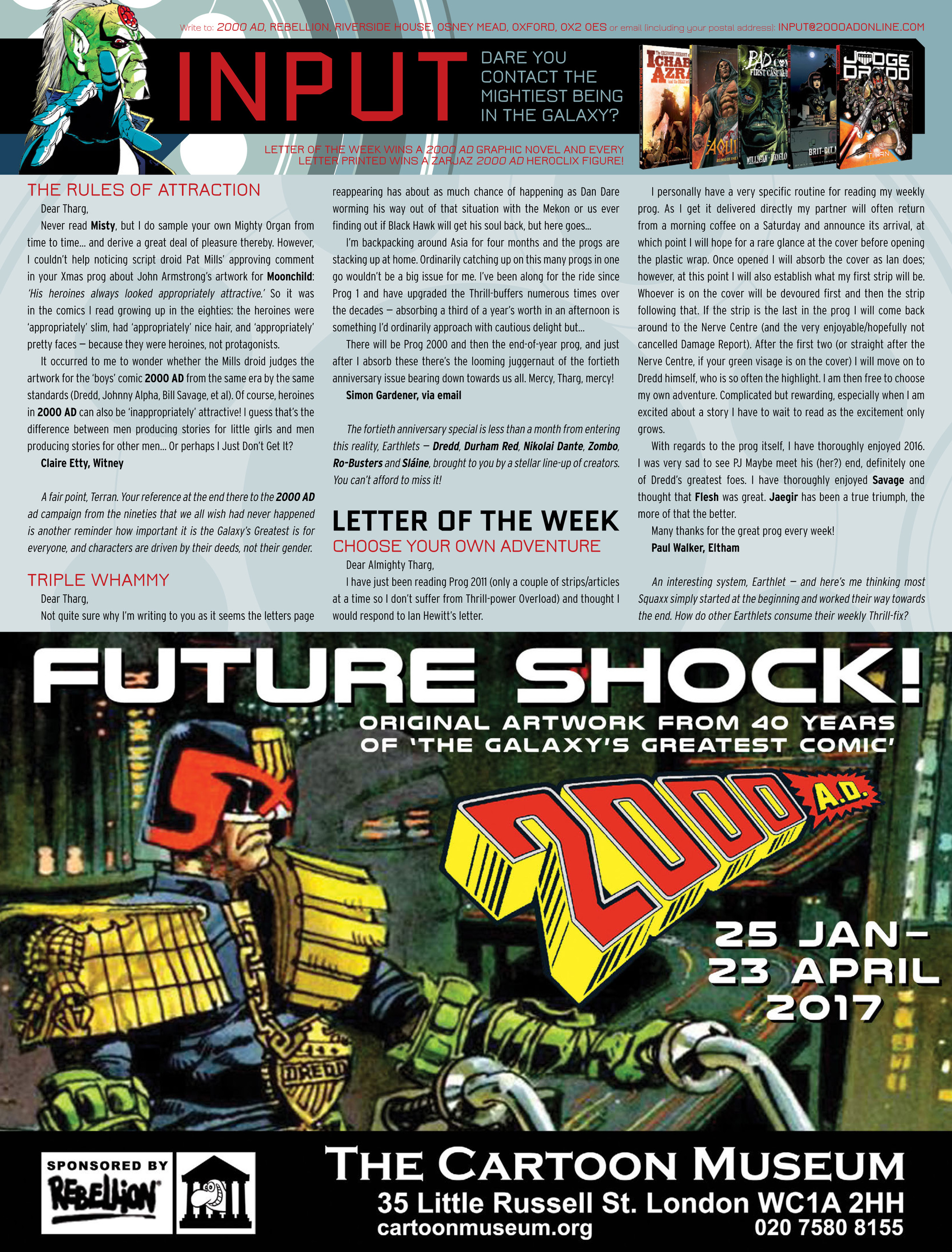 Read online 2000 AD comic -  Issue #2015 - 31