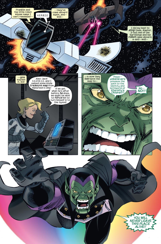 Read online Skrulls vs. Power Pack comic -  Issue #3 - 20