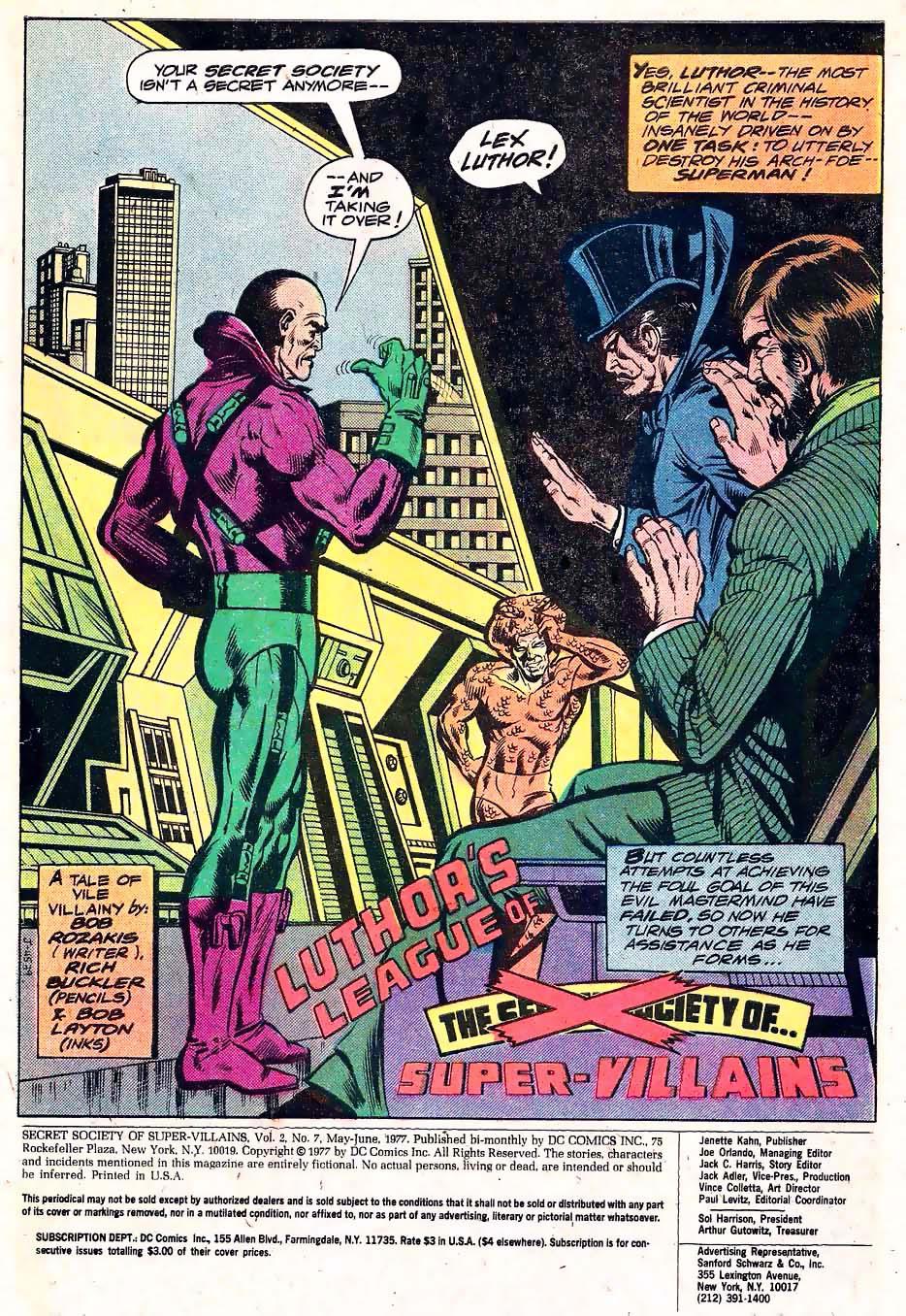 Read online Secret Society of Super-Villains comic -  Issue #7 - 2