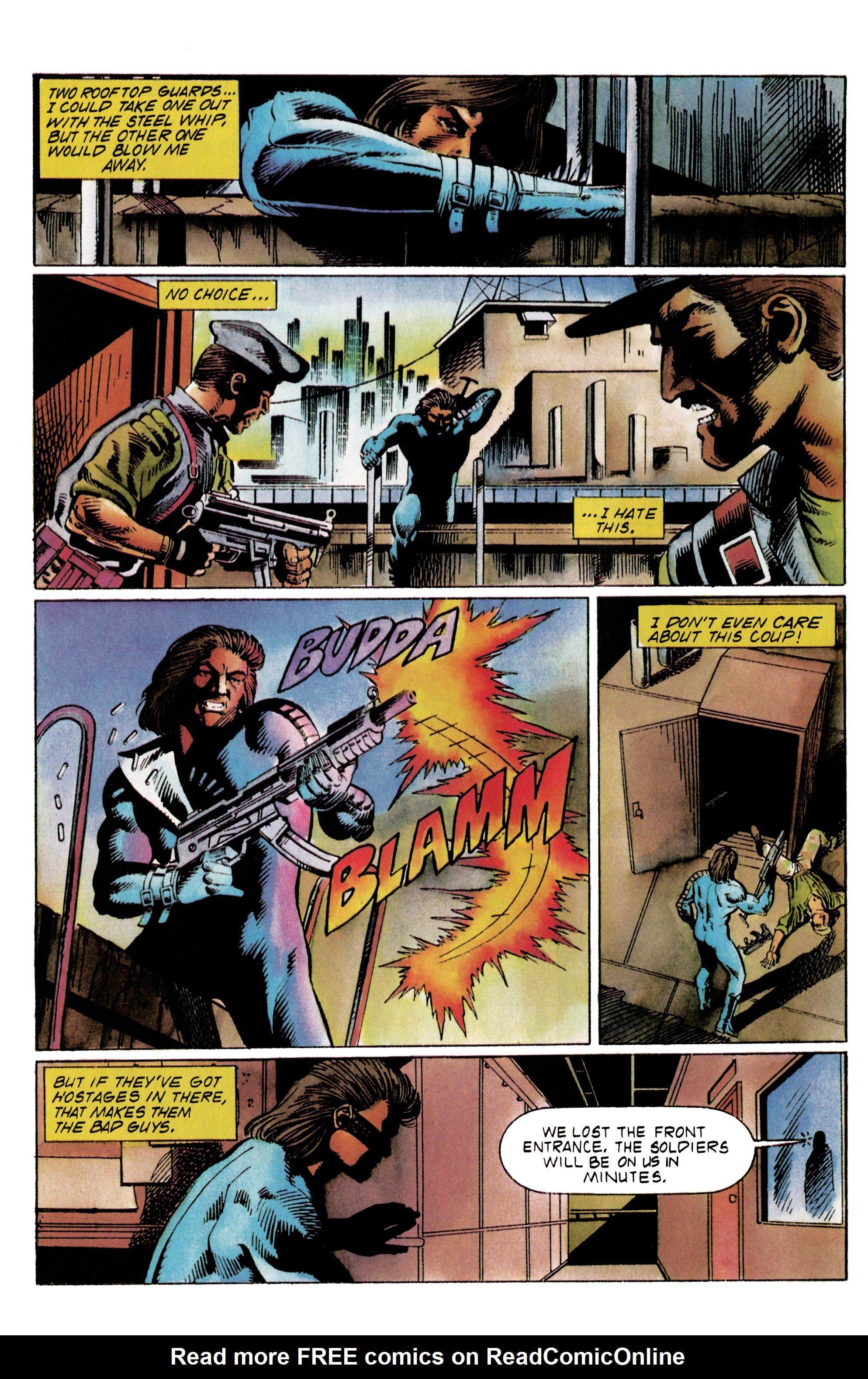Read online Eternal Warrior (1992) comic -  Issue #20 - 19