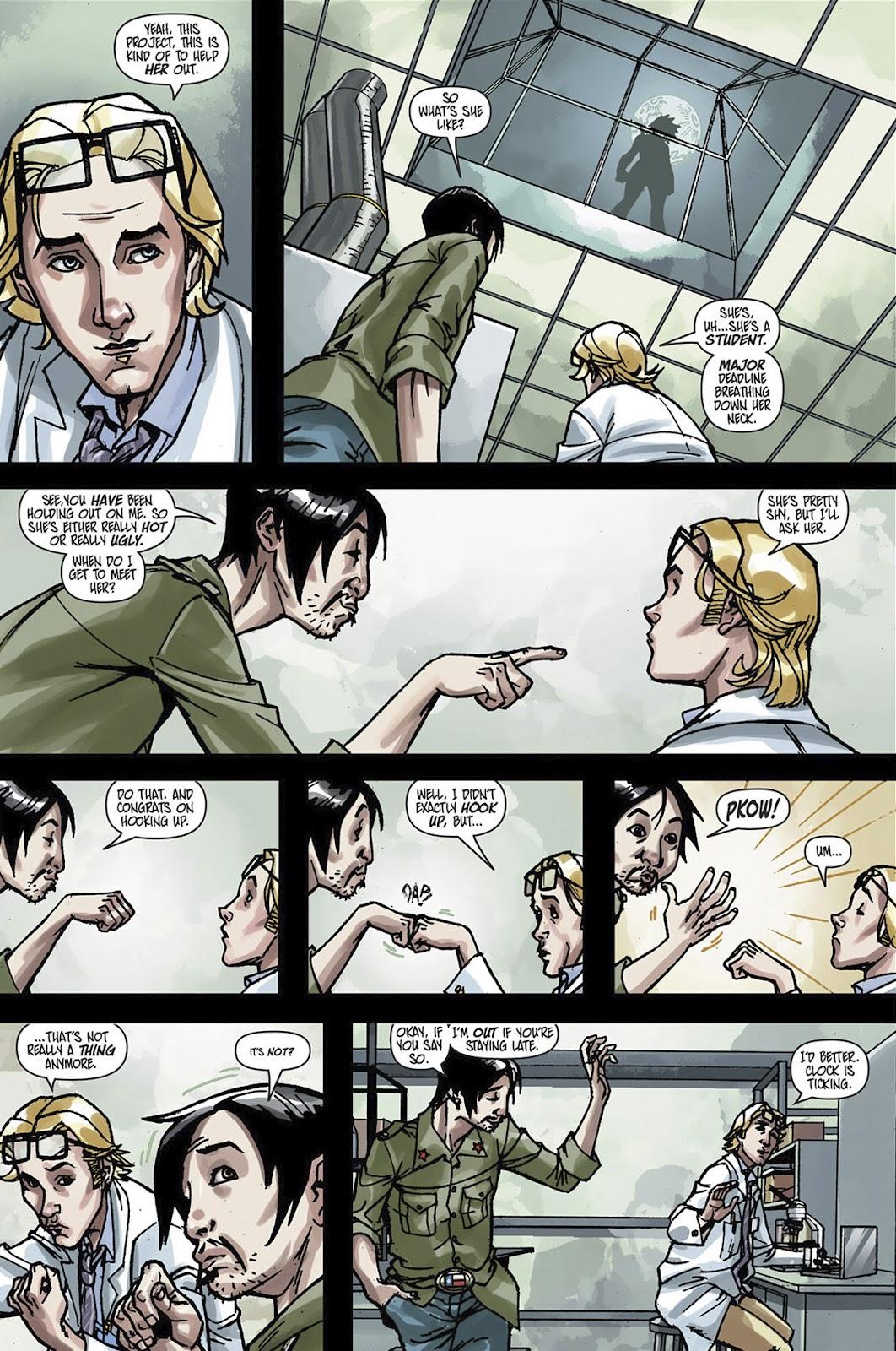 Read online Shinku comic -  Issue #3 - 10