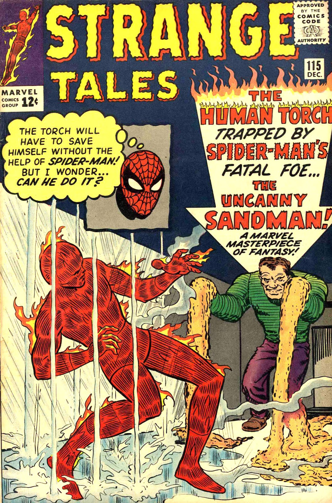 Strange Tales (1951) issue 115 - Page 1