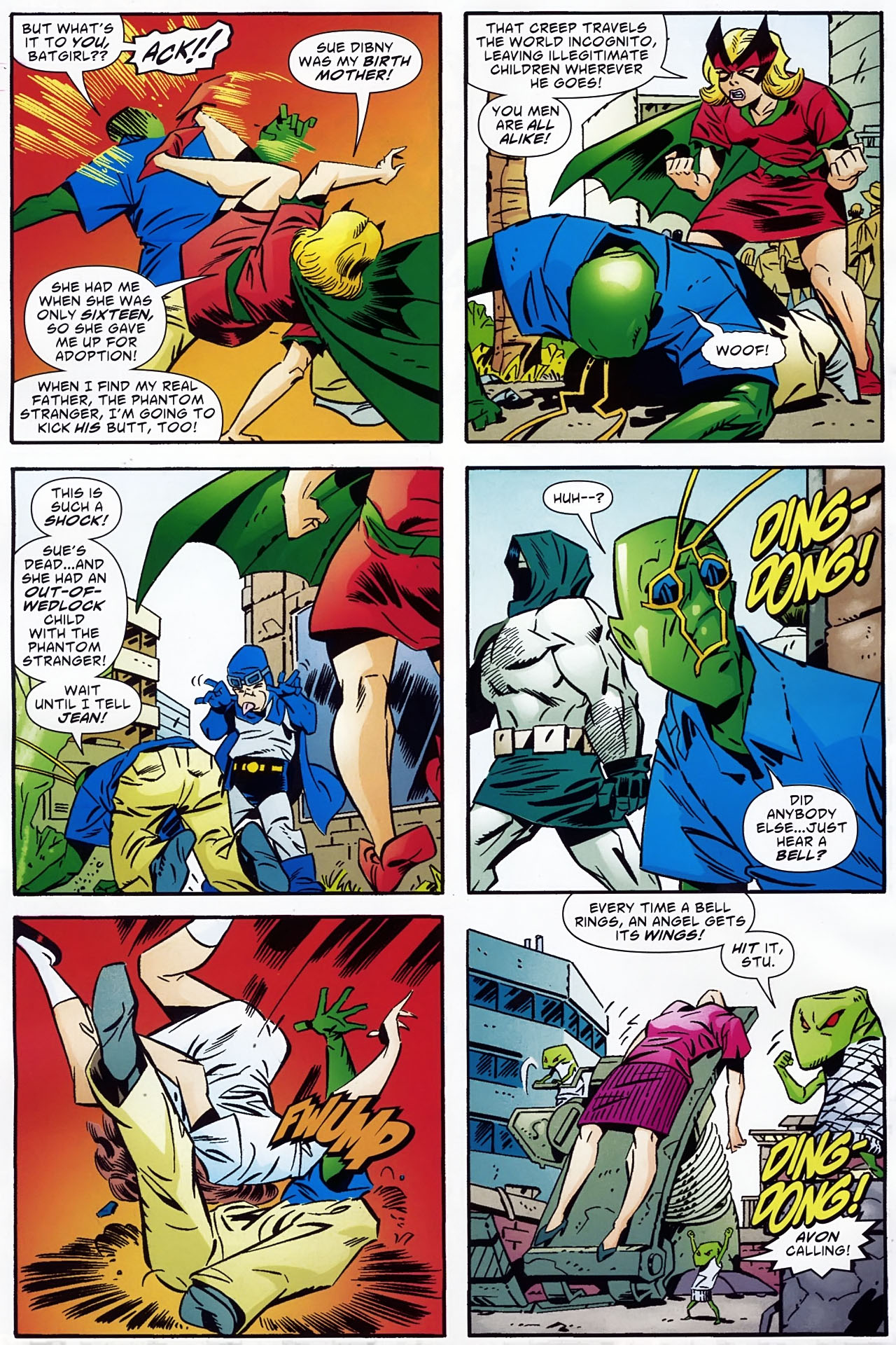Read online Ambush Bug: Year None comic -  Issue #1 - 19