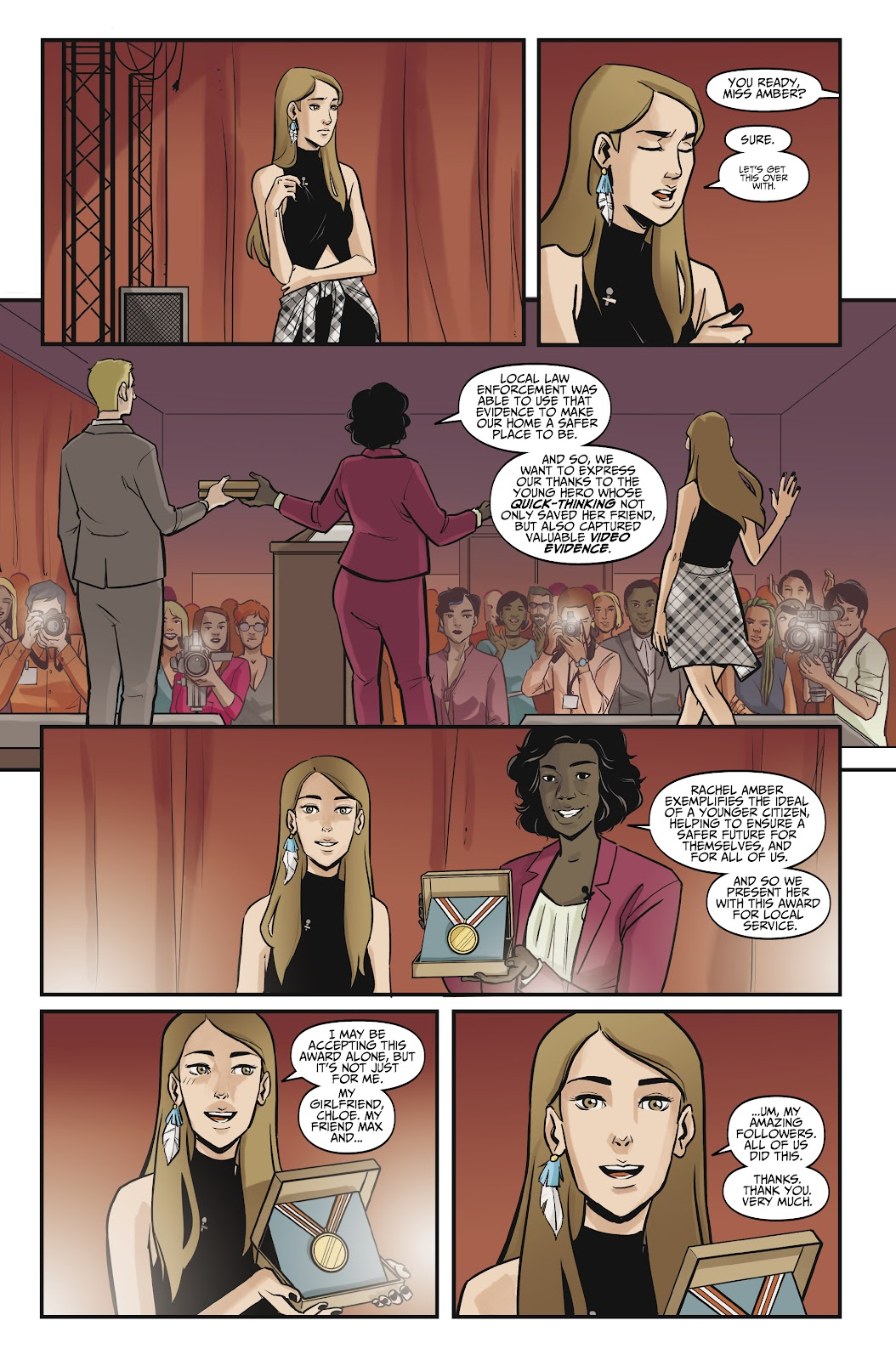 Read online Life is Strange comic -  Issue #10 - 16