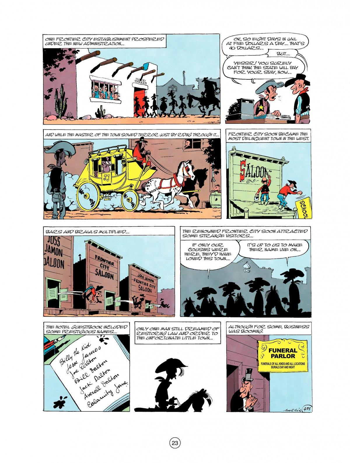 Read online A Lucky Luke Adventure comic -  Issue #27 - 24