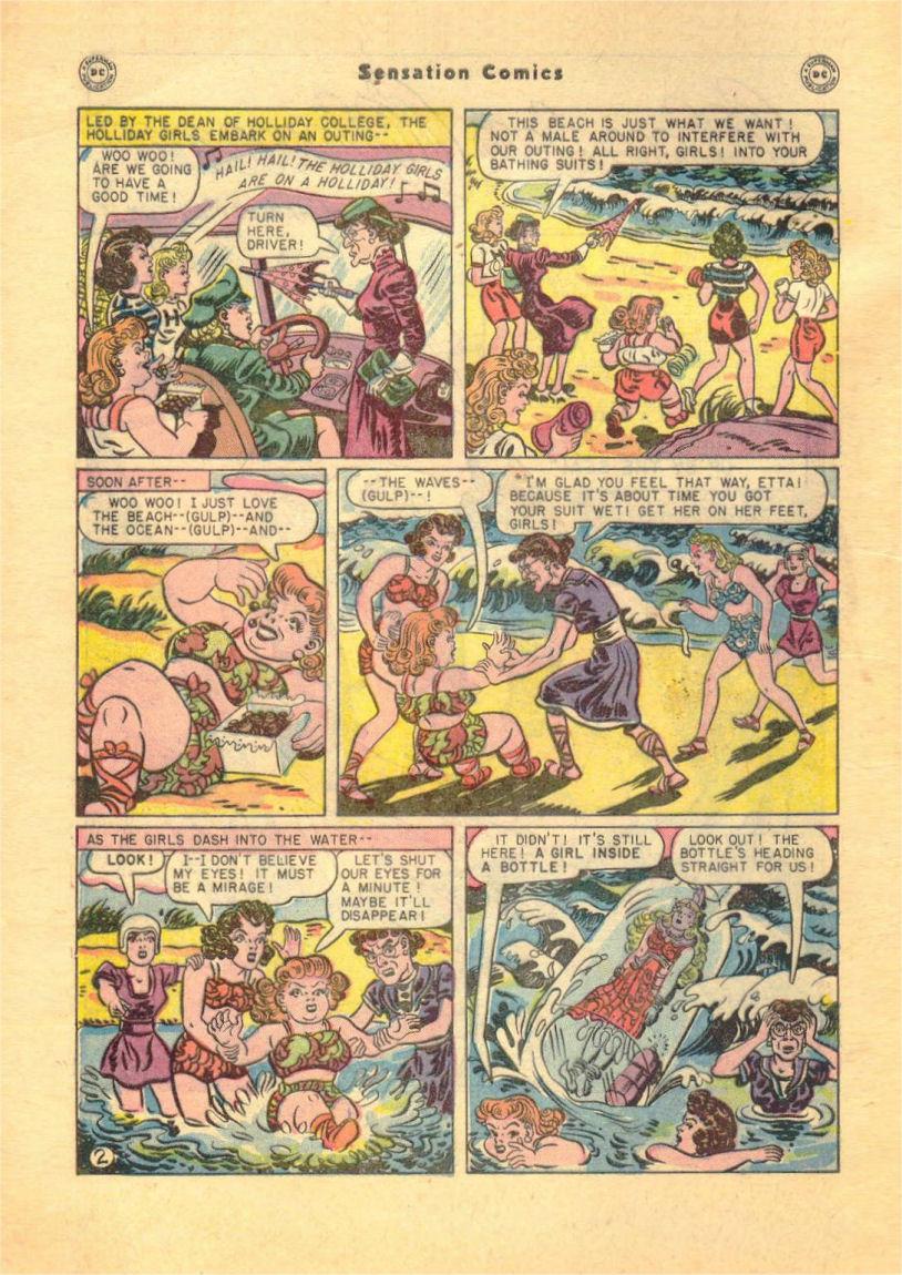 Read online Sensation (Mystery) Comics comic -  Issue #84 - 4